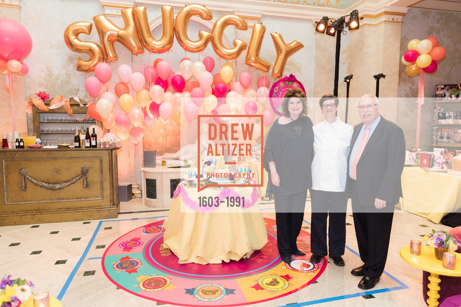 Pam Glogau, Chef Lori, Richard Glogau, Glogau Teddy Bear Rescue Fund Hosts The Snuggly Soiree, Private Residence, March 23rd, 2017