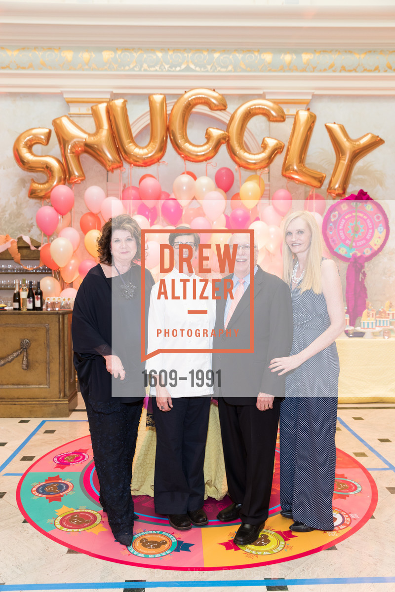 Pam Glogau, Chef Lori, Richard Glogau, Beth Townsend, Glogau Teddy Bear Rescue Fund Hosts The Snuggly Soiree, Private Residence, March 23rd, 2017