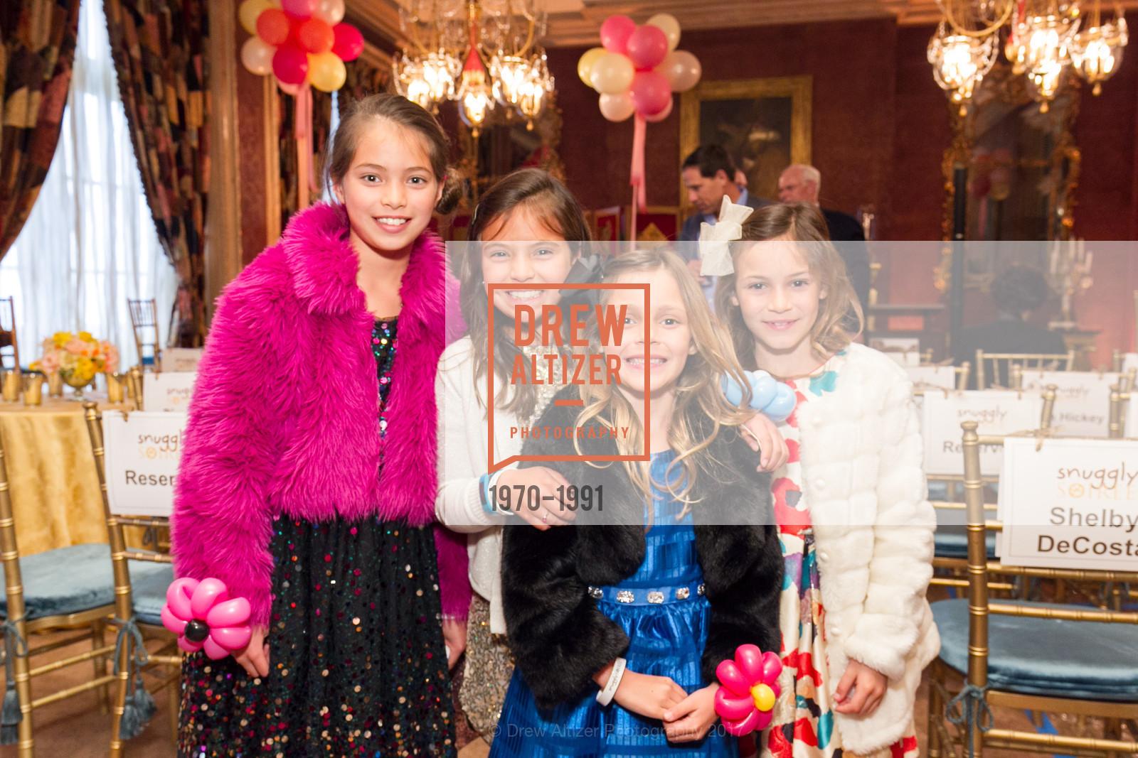 Sydney Redderer, Morgan Redderer, Camilla Vaquez, Olivia Vasquez, Glogau Teddy Bear Rescue Fund Hosts The Snuggly Soiree, Private Residence, March 23rd, 2017