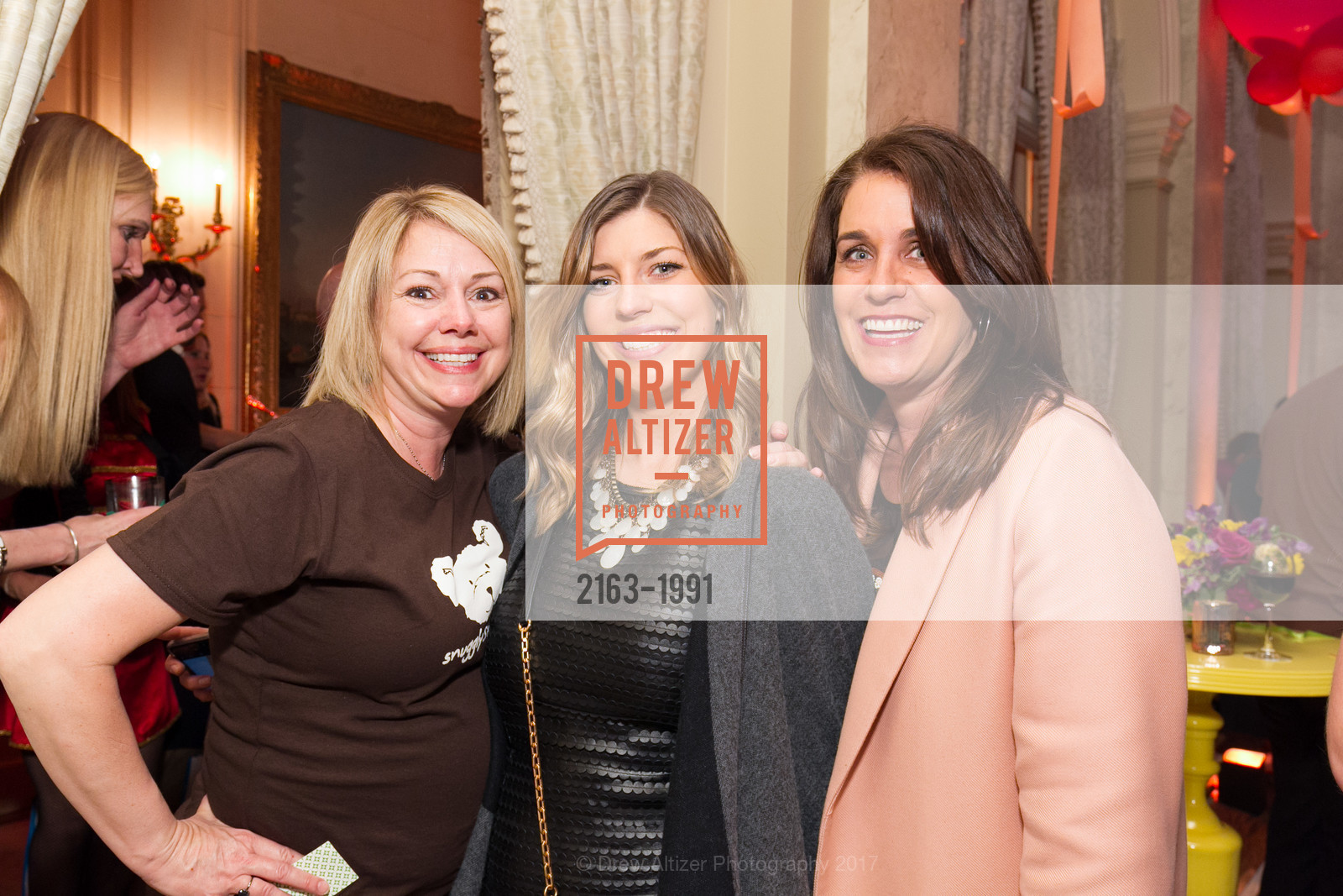 Becky Sumner, Lauren Collmer, Kelly O'Brien, Glogau Teddy Bear Rescue Fund Hosts The Snuggly Soiree, Private Residence, March 23rd, 2017