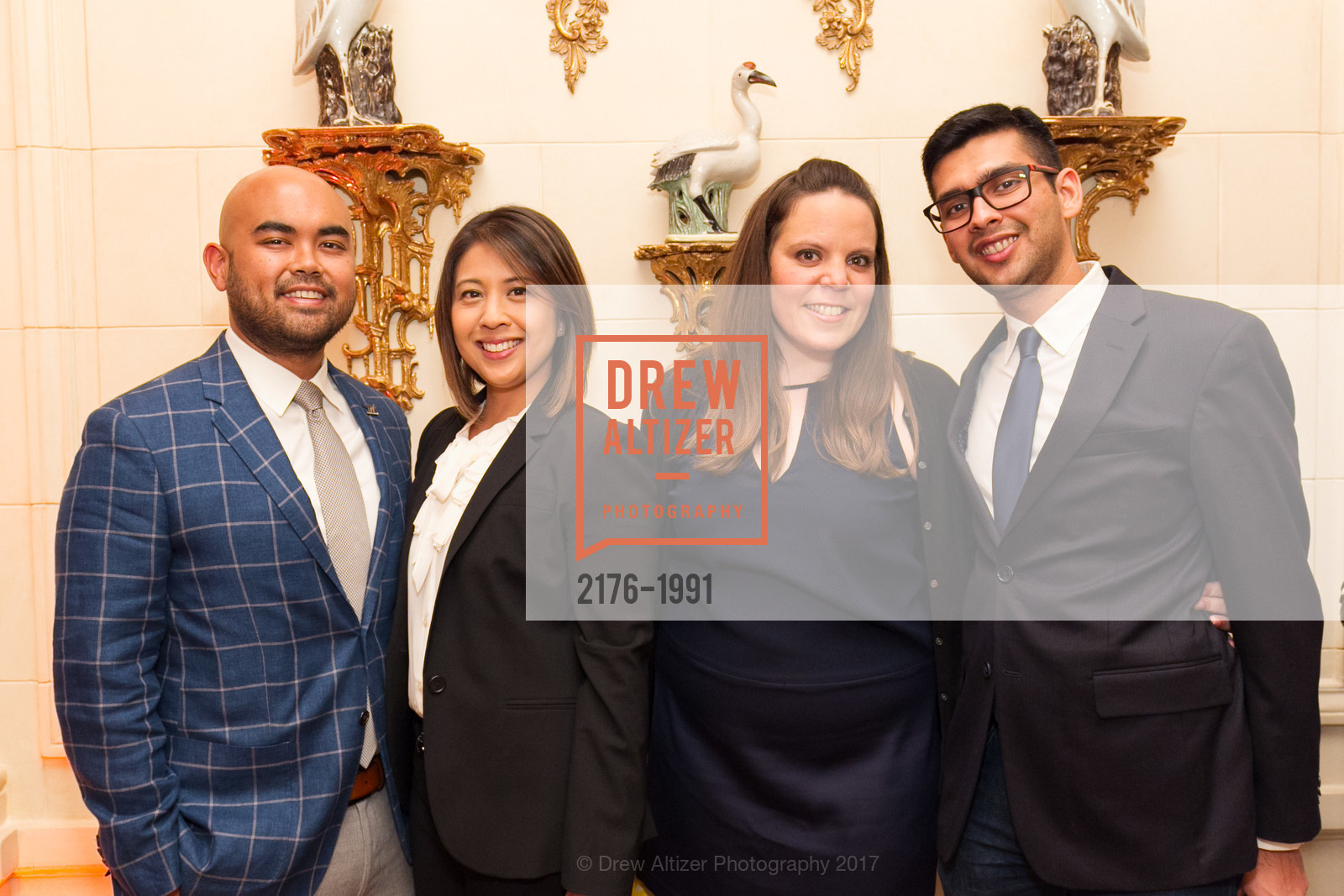 Jon Hodo, Janel Hodo, Karen Banks, Mikhail Chainani, Glogau Teddy Bear Rescue Fund Hosts The Snuggly Soiree, Private Residence, March 23rd, 2017