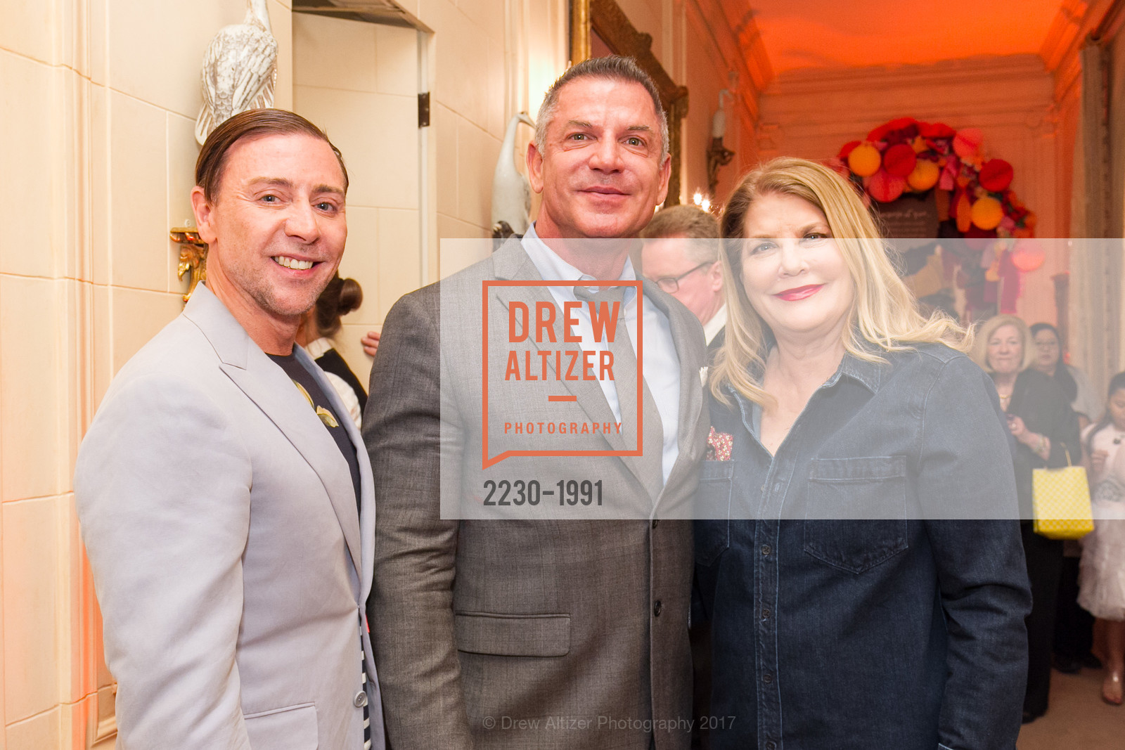 Mark Rhoades, David Kensington, Linda Gordon, Glogau Teddy Bear Rescue Fund Hosts The Snuggly Soiree, Private Residence, March 23rd, 2017