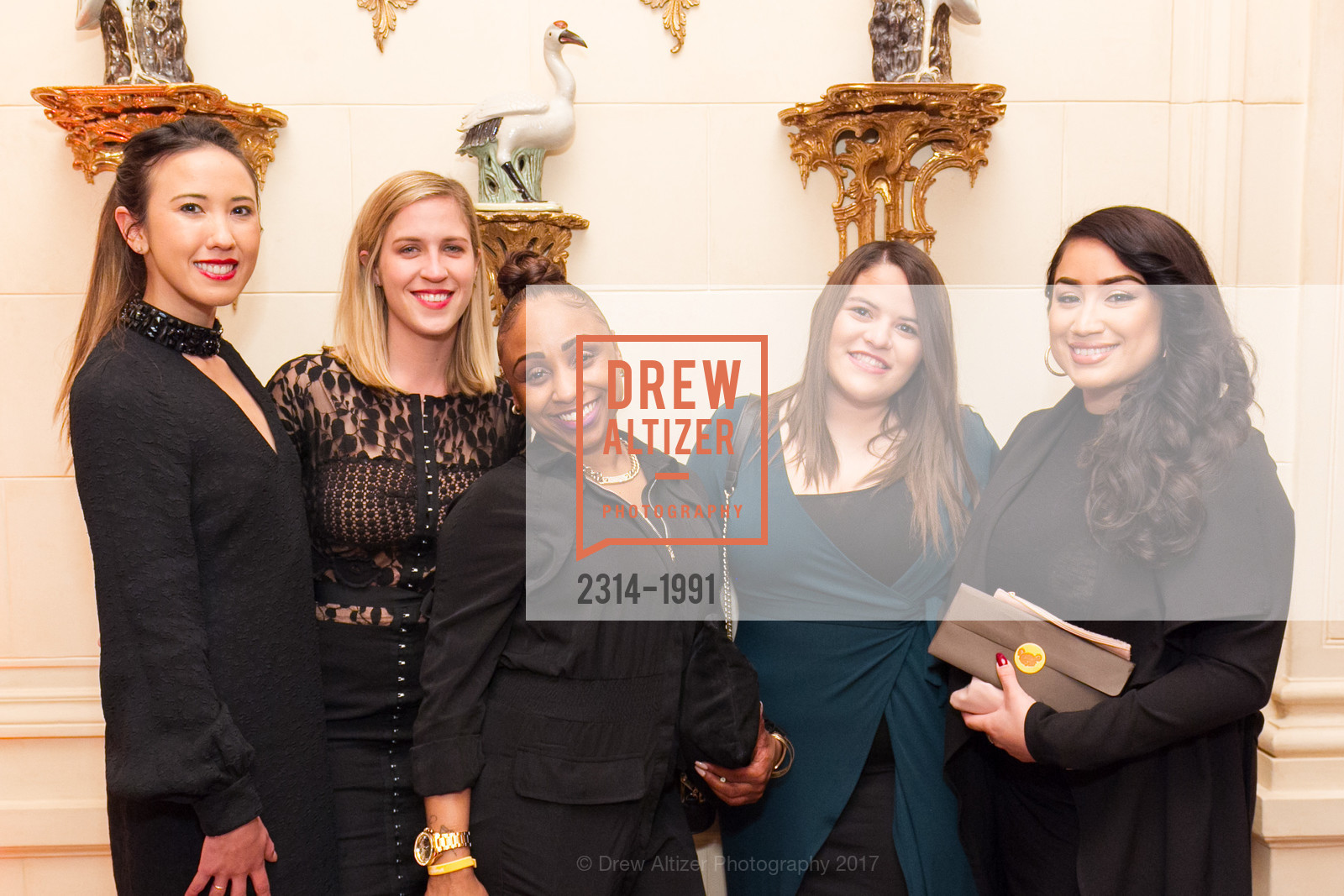 Jessica Chang, Anna Currin, Nyah Earby, Sylvia Henriquez, Jolenne Sandoval, Glogau Teddy Bear Rescue Fund Hosts The Snuggly Soiree, Private Residence, March 23rd, 2017