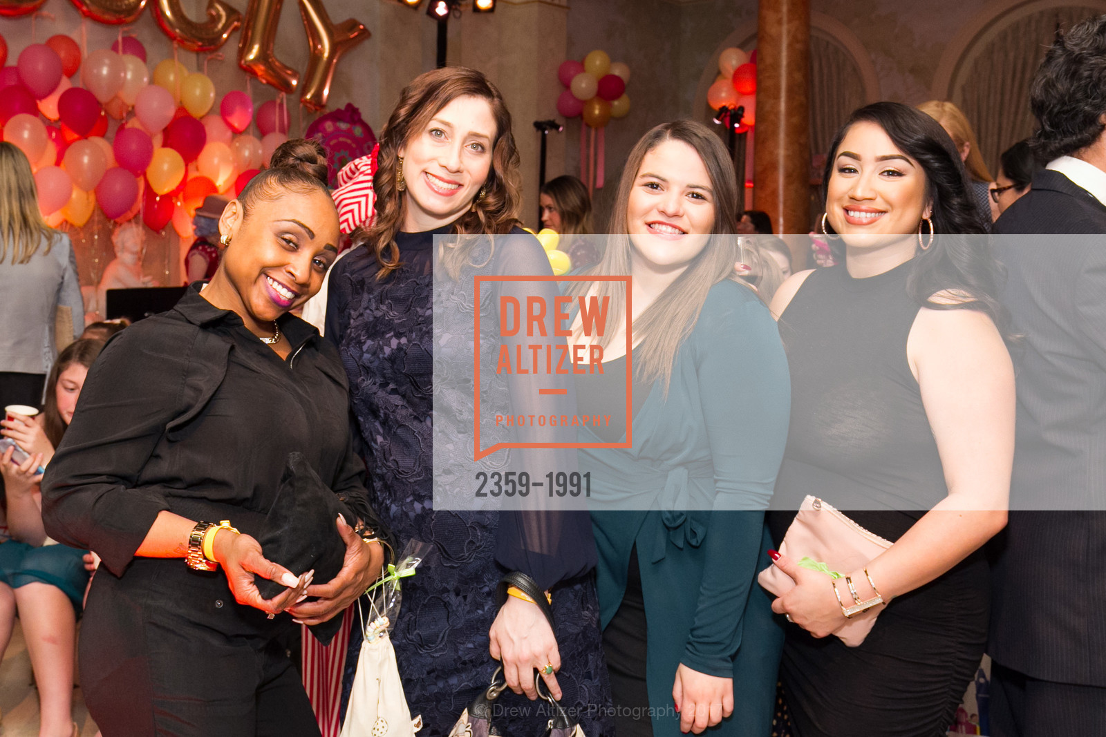 Nyah Earby, Sylvia Henriquez, Jillian Sandoval, Glogau Teddy Bear Rescue Fund Hosts The Snuggly Soiree, Private Residence, March 23rd, 2017