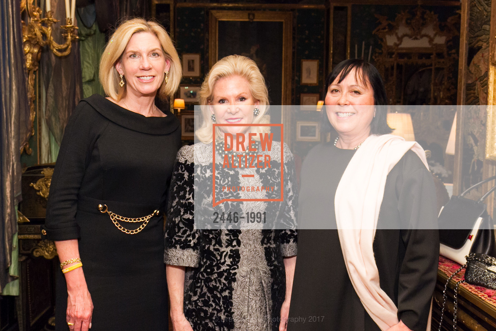 Cynthia Parsons, Dede Wilsey, Lourdes Livingston, Glogau Teddy Bear Rescue Fund Hosts The Snuggly Soiree, Private Residence, March 23rd, 2017