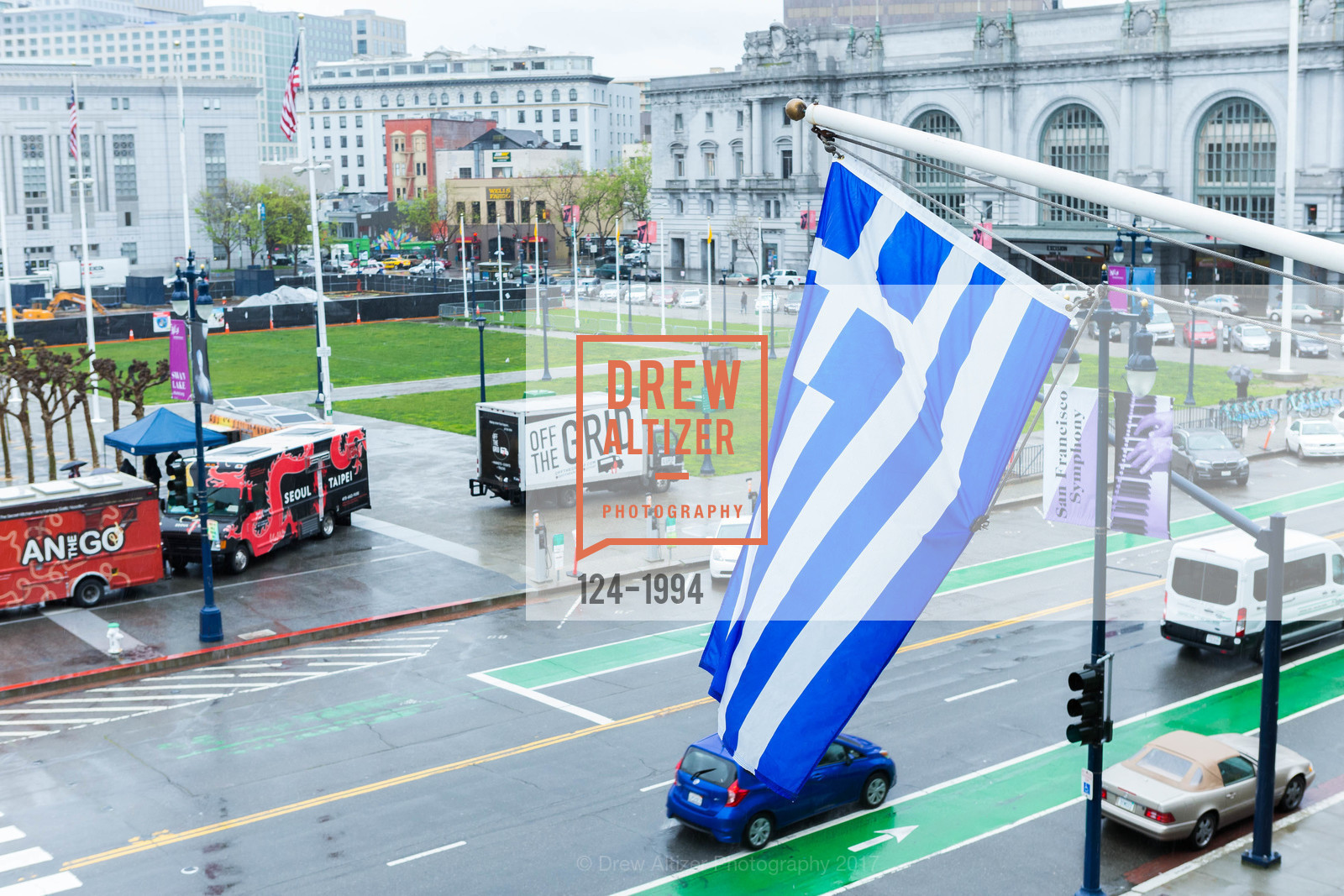Atmosphere, Greek Independence Day Official Greek Flag Raising Ceremony, City Hall. 1 Dr Carlton B Goodlett Pl, March 24th, 2017