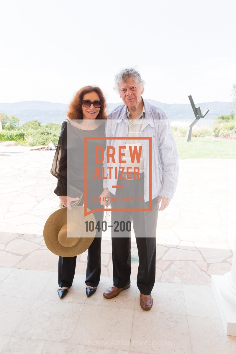 Ann Getty, Gordon Getty, Festival del Sole Brunello Cucinelli Luncheon Hosted by Hall Wines and Neiman Marcus, P\. 56 Auberge Rd, July 19th, 2015,Drew Altizer, Drew Altizer Photography, full-service agency, private events, San Francisco photographer, photographer california
