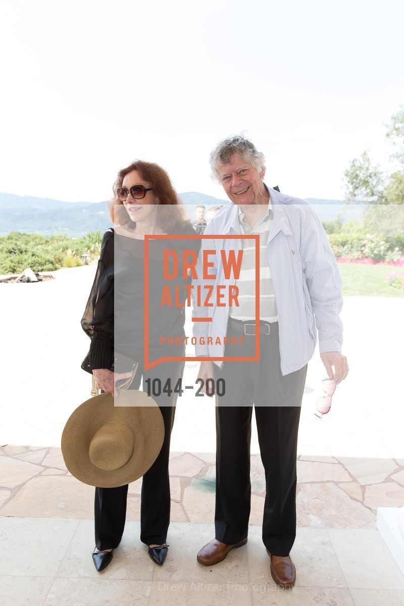 Ann Getty, Gordon Getty, Festival del Sole Brunello Cucinelli Luncheon Hosted by Hall Wines and Neiman Marcus, P\. 56 Auberge Rd, July 19th, 2015