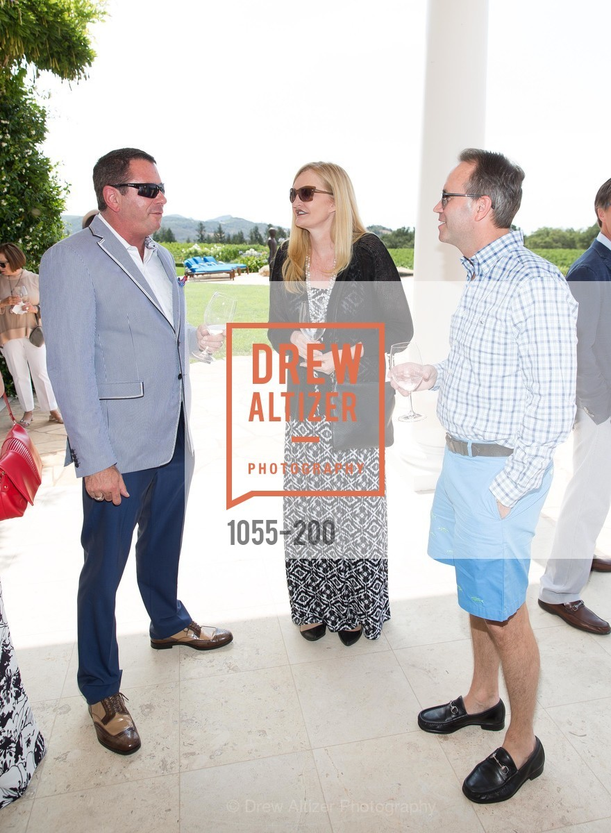 Mark Wertheim, Beth Townsend, Chip Zecher, Festival del Sole Brunello Cucinelli Luncheon Hosted by Hall Wines and Neiman Marcus, P\. 56 Auberge Rd, July 19th, 2015,Drew Altizer, Drew Altizer Photography, full-service event agency, private events, San Francisco photographer, photographer California