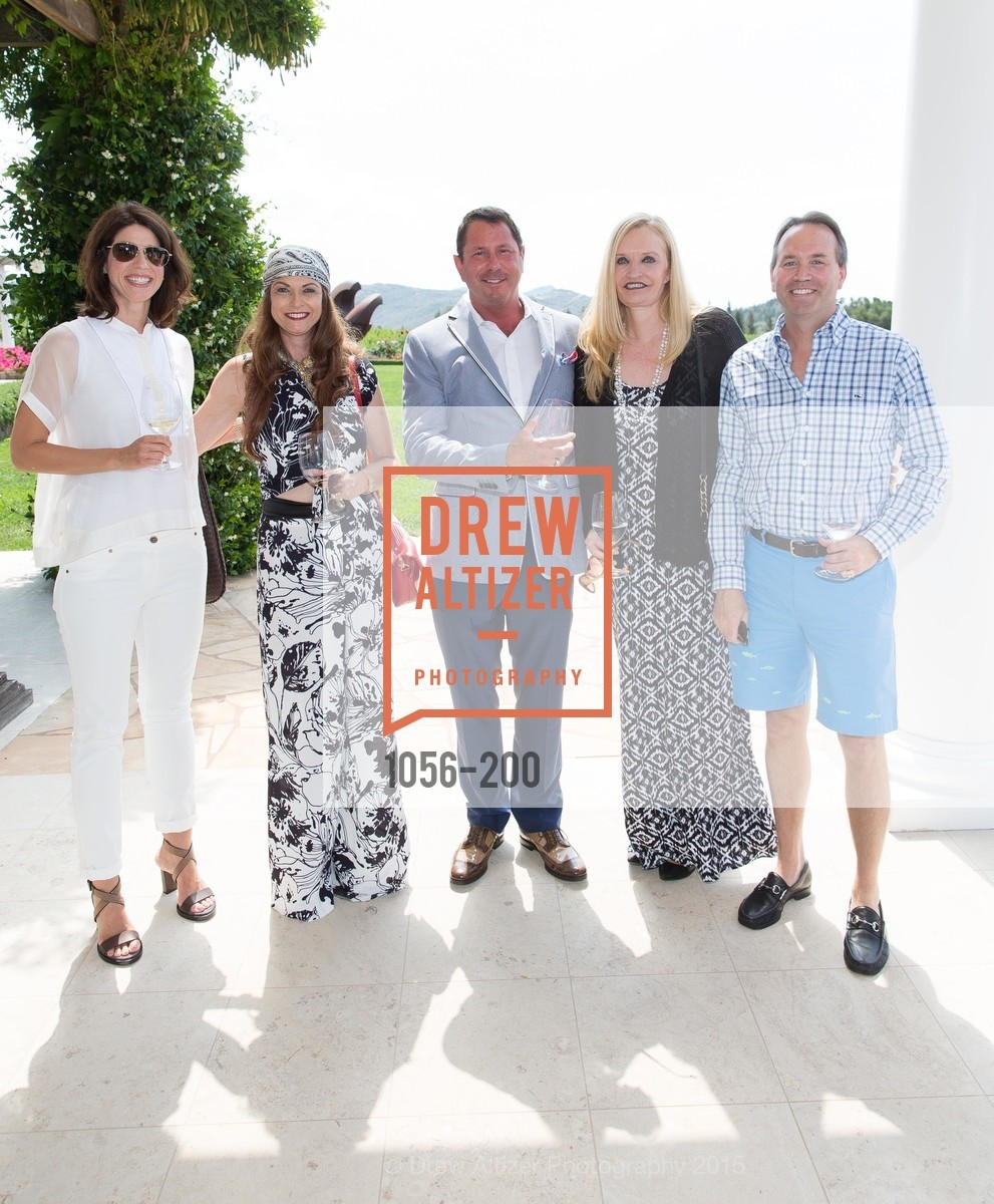 Nancy Wertheim, Mark Wertheim, Beth Townsend, Chip Zecher, Festival del Sole Brunello Cucinelli Luncheon Hosted by Hall Wines and Neiman Marcus, P\. 56 Auberge Rd, July 19th, 2015,Drew Altizer, Drew Altizer Photography, full-service agency, private events, San Francisco photographer, photographer california