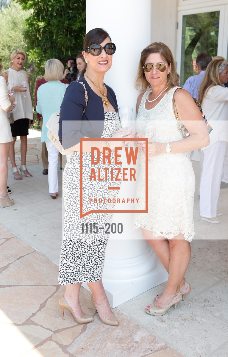 Tracy Tomkovicz, Aline Magee, Festival del Sole Brunello Cucinelli Luncheon Hosted by Hall Wines and Neiman Marcus, P\. 56 Auberge Rd, July 19th, 2015,Drew Altizer, Drew Altizer Photography, full-service agency, private events, San Francisco photographer, photographer california