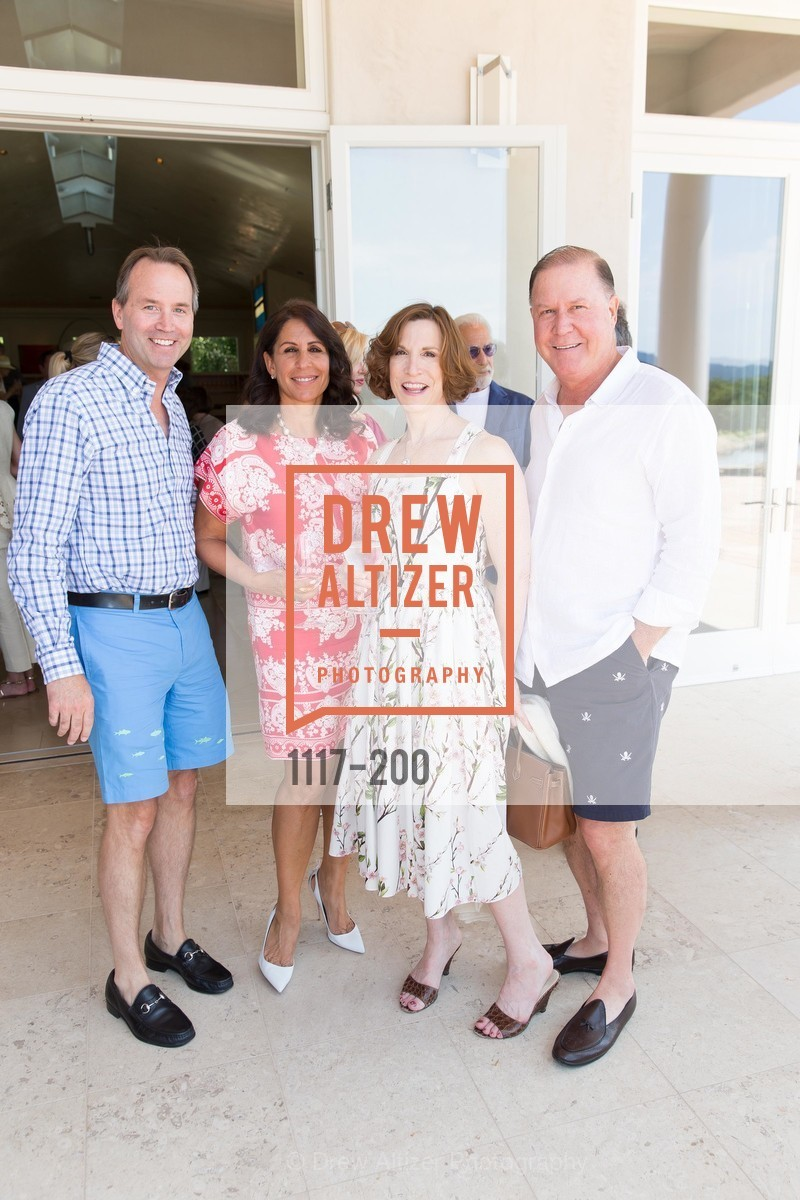 Chip Zecher, Lisa Grotts, Maria Quiros, John Grotts, Festival del Sole Brunello Cucinelli Luncheon Hosted by Hall Wines and Neiman Marcus, P\. 56 Auberge Rd, July 19th, 2015,Drew Altizer, Drew Altizer Photography, full-service agency, private events, San Francisco photographer, photographer california