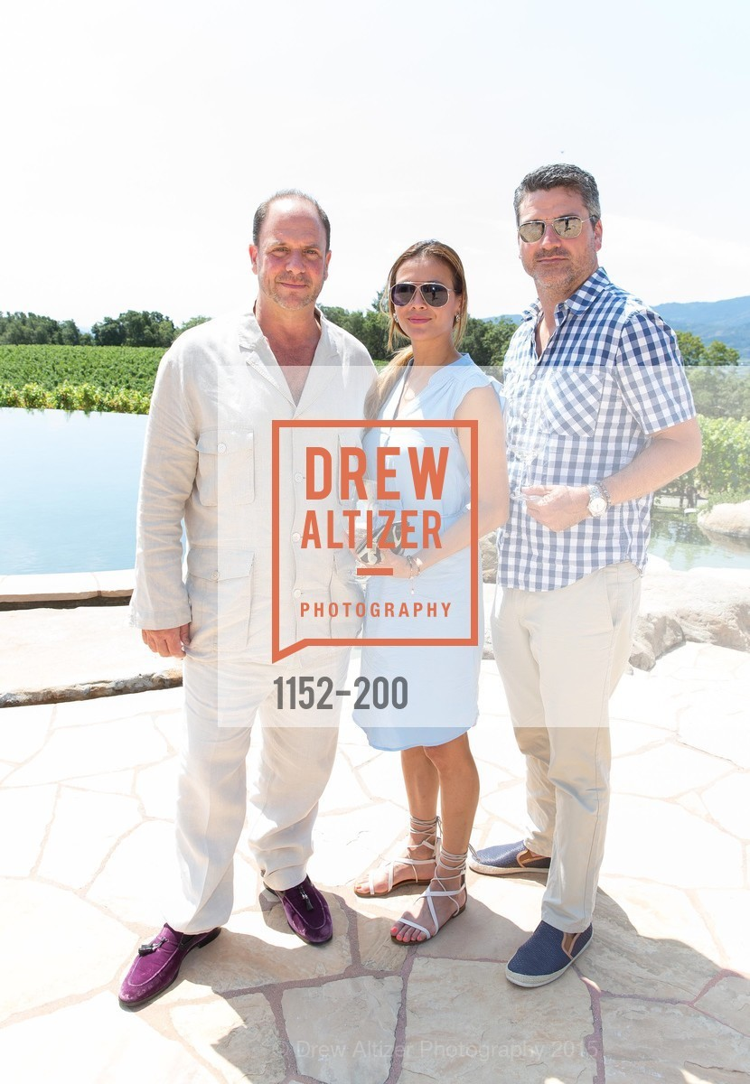 Barrett Wissman, Evelyn Weber, Trevor Neilson, Festival del Sole Brunello Cucinelli Luncheon Hosted by Hall Wines and Neiman Marcus, P\. 56 Auberge Rd, July 19th, 2015,Drew Altizer, Drew Altizer Photography, full-service agency, private events, San Francisco photographer, photographer california