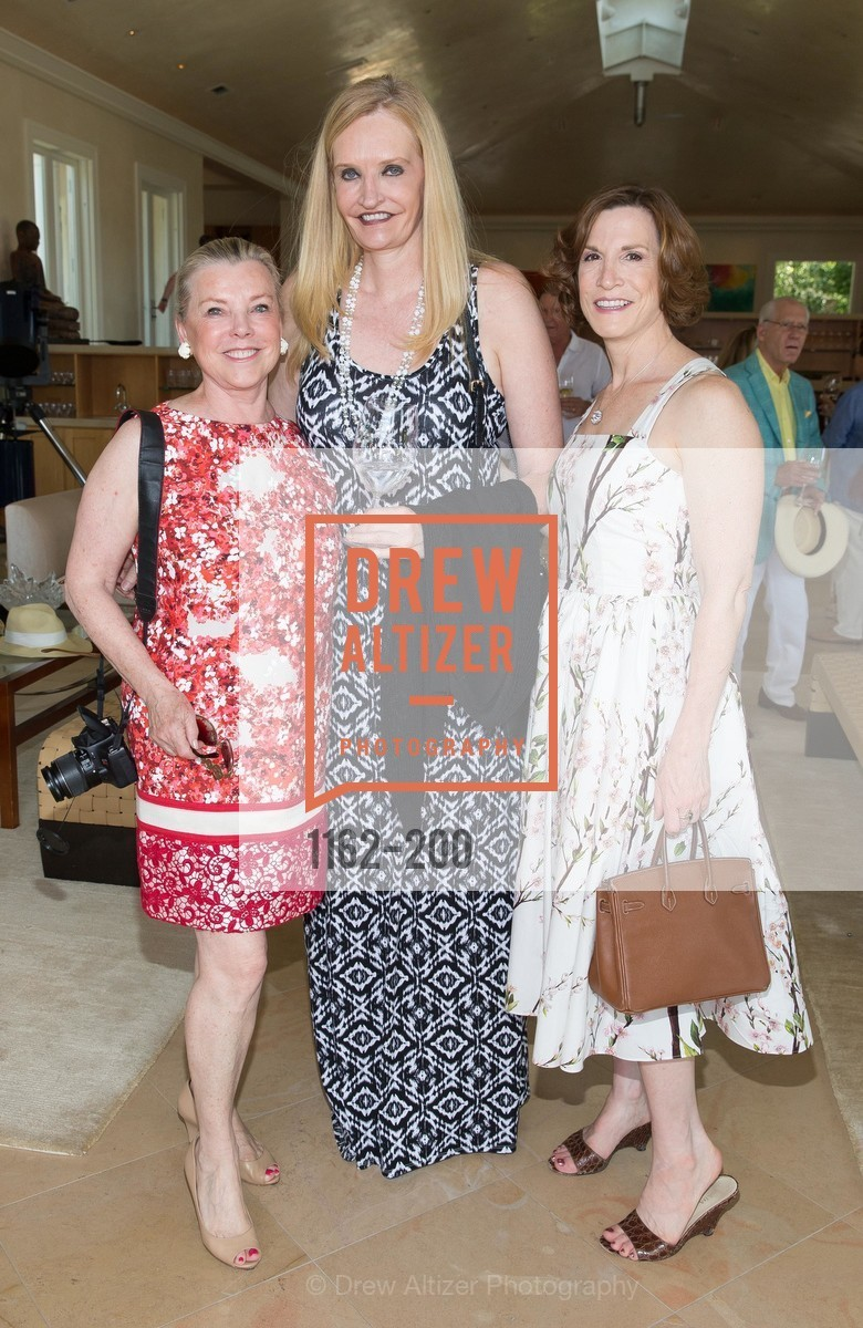 Jeanne Lawrence, Beth Townsend, Maria Quiros, Festival del Sole Brunello Cucinelli Luncheon Hosted by Hall Wines and Neiman Marcus, P\. 56 Auberge Rd, July 19th, 2015,Drew Altizer, Drew Altizer Photography, full-service agency, private events, San Francisco photographer, photographer california