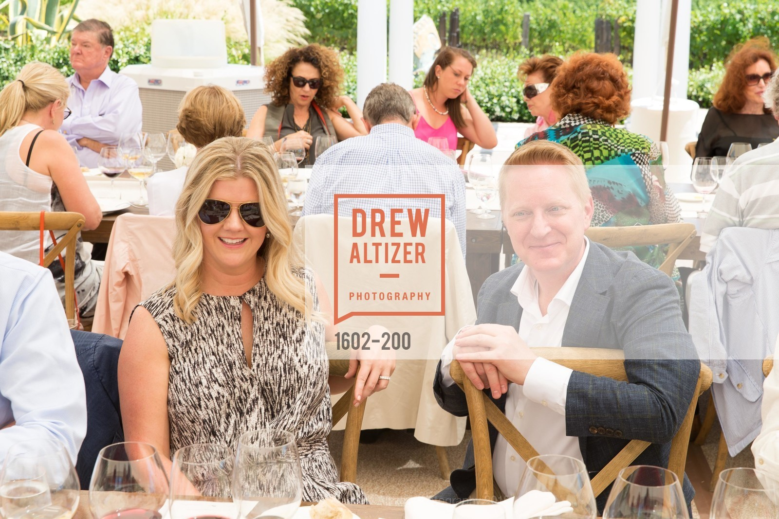 Michelle Barta, Jamie Broadhurst, Festival del Sole Brunello Cucinelli Luncheon Hosted by Hall Wines and Neiman Marcus, P\. 56 Auberge Rd, July 19th, 2015,Drew Altizer, Drew Altizer Photography, full-service agency, private events, San Francisco photographer, photographer california