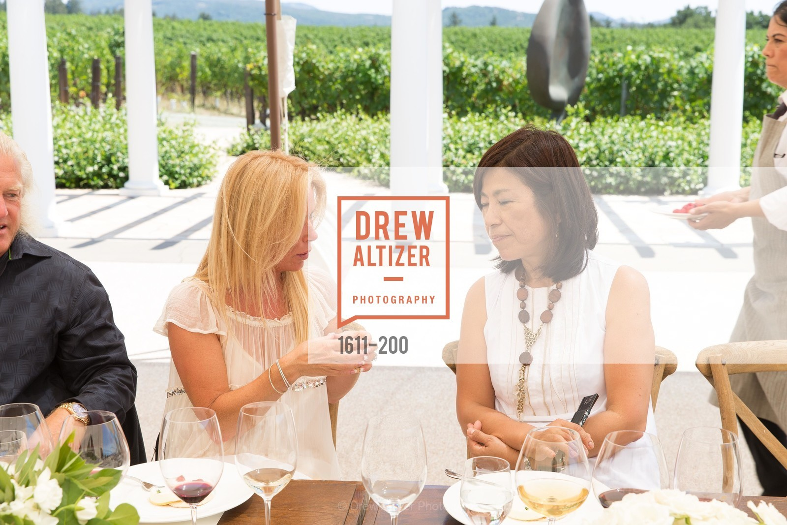 Noelle von Tesmar, Naoko Dalla Valle, Festival del Sole Brunello Cucinelli Luncheon Hosted by Hall Wines and Neiman Marcus, P\. 56 Auberge Rd, July 19th, 2015,Drew Altizer, Drew Altizer Photography, full-service agency, private events, San Francisco photographer, photographer california