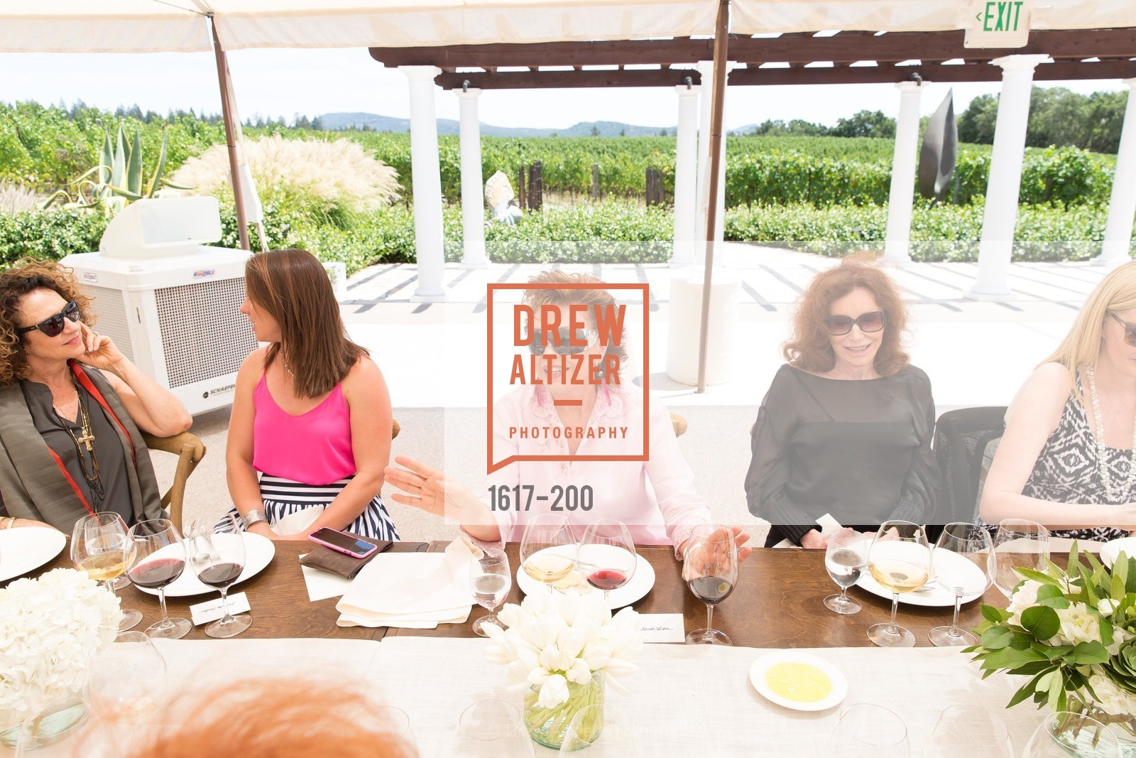 Maria Manetti Shrem, Ann Getty, Festival del Sole Brunello Cucinelli Luncheon Hosted by Hall Wines and Neiman Marcus, P\. 56 Auberge Rd, July 19th, 2015,Drew Altizer, Drew Altizer Photography, full-service event agency, private events, San Francisco photographer, photographer California