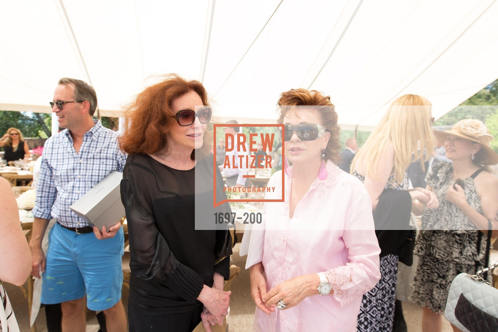 Ann Getty, Maria Manetti Shrem, Festival del Sole Brunello Cucinelli Luncheon Hosted by Hall Wines and Neiman Marcus, P\. 56 Auberge Rd, July 19th, 2015,Drew Altizer, Drew Altizer Photography, full-service agency, private events, San Francisco photographer, photographer california