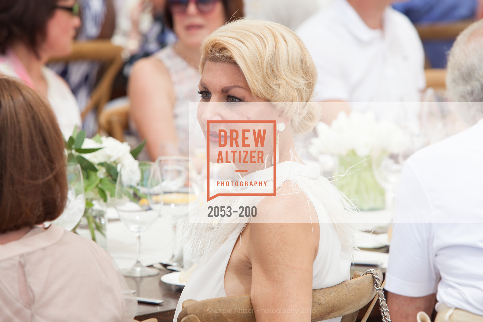 Karen Caldwell, Festival del Sole Brunello Cucinelli Luncheon Hosted by Hall Wines and Neiman Marcus, P\. 56 Auberge Rd, July 19th, 2015,Drew Altizer, Drew Altizer Photography, full-service agency, private events, San Francisco photographer, photographer california