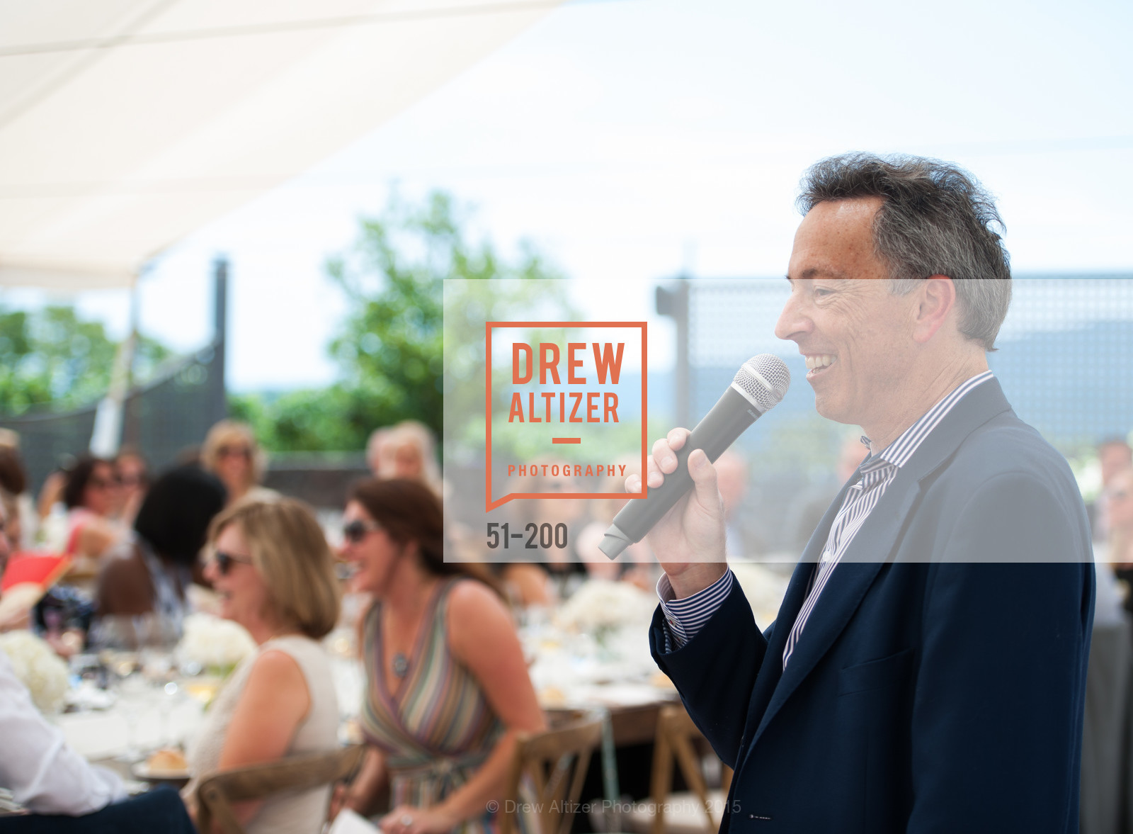 Rick Walker, Festival del Sole Brunello Cucinelli Luncheon Hosted by Hall Wines and Neiman Marcus, P\. 56 Auberge Rd, July 19th, 2015,Drew Altizer, Drew Altizer Photography, full-service agency, private events, San Francisco photographer, photographer california