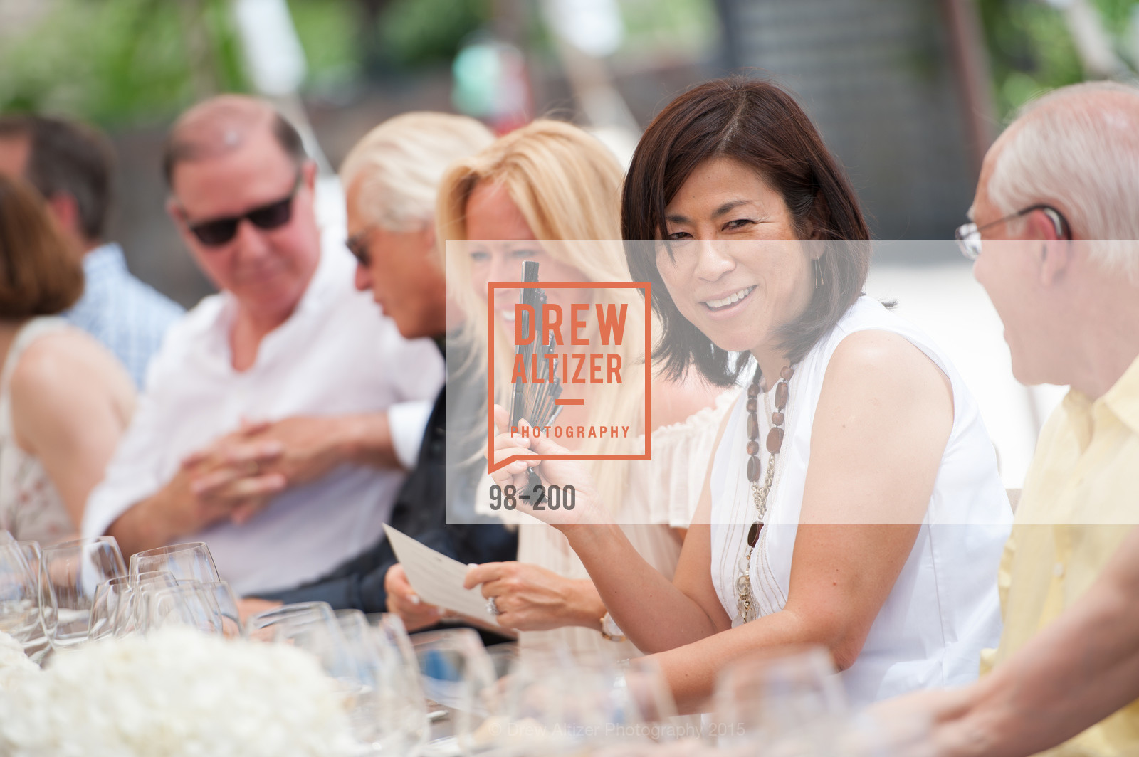 Naoko Dalla Valle, Festival del Sole Brunello Cucinelli Luncheon Hosted by Hall Wines and Neiman Marcus, P\. 56 Auberge Rd, July 19th, 2015,Drew Altizer, Drew Altizer Photography, full-service agency, private events, San Francisco photographer, photographer california