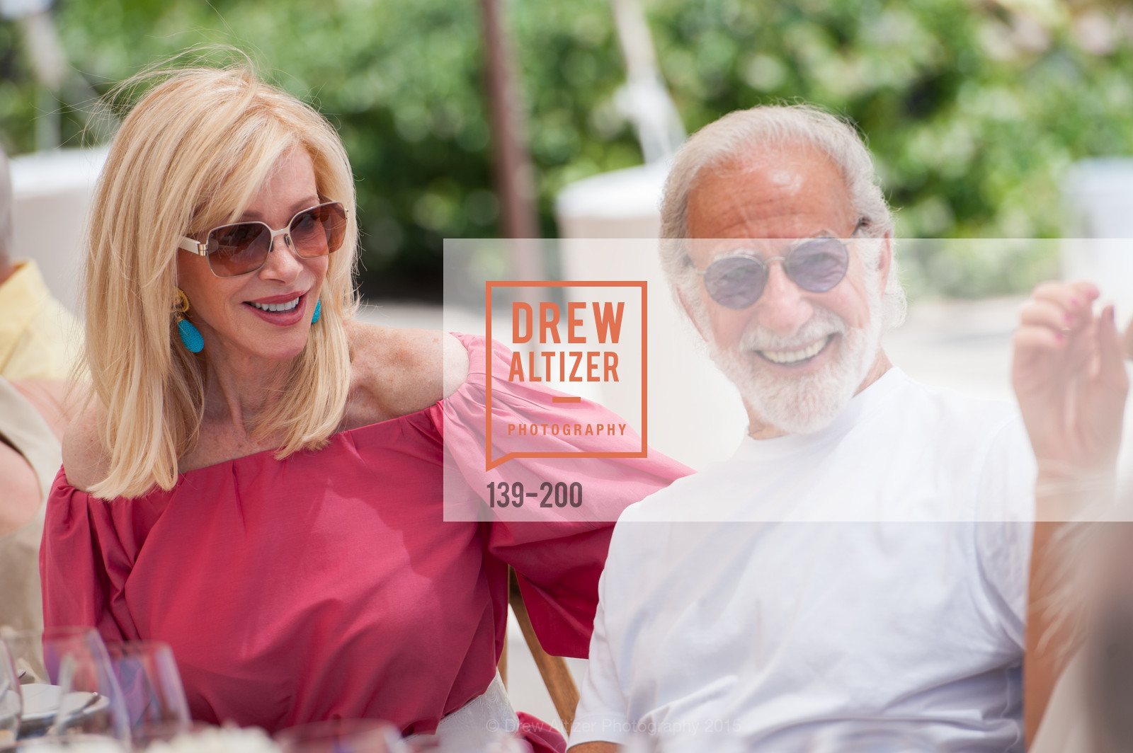 Pamala Deikel, Ted Deikel, Festival del Sole Brunello Cucinelli Luncheon Hosted by Hall Wines and Neiman Marcus, P\. 56 Auberge Rd, July 19th, 2015,Drew Altizer, Drew Altizer Photography, full-service agency, private events, San Francisco photographer, photographer california