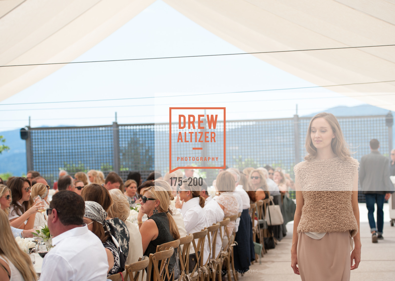 Fashion Show, Festival del Sole Brunello Cucinelli Luncheon Hosted by Hall Wines and Neiman Marcus, P\. 56 Auberge Rd, July 19th, 2015,Drew Altizer, Drew Altizer Photography, full-service agency, private events, San Francisco photographer, photographer california