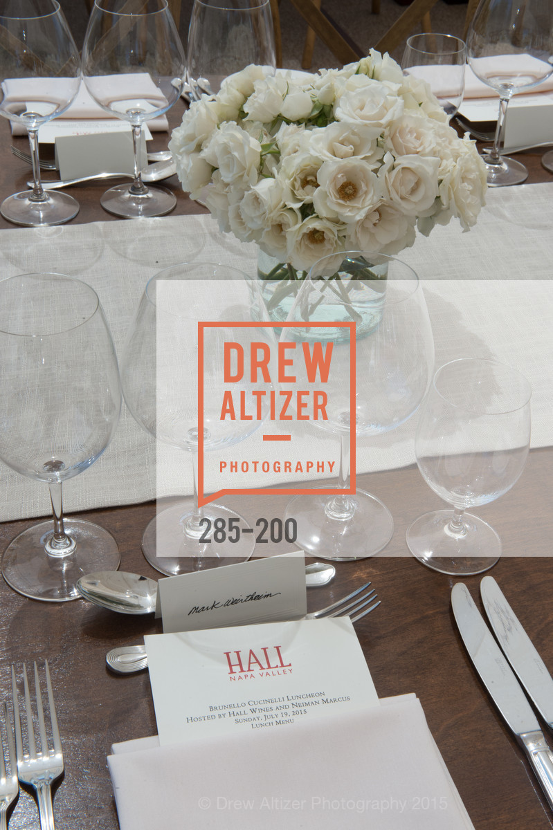 Atmosphere, Festival del Sole Brunello Cucinelli Luncheon Hosted by Hall Wines and Neiman Marcus, P\. 56 Auberge Rd, July 19th, 2015,Drew Altizer, Drew Altizer Photography, full-service agency, private events, San Francisco photographer, photographer california