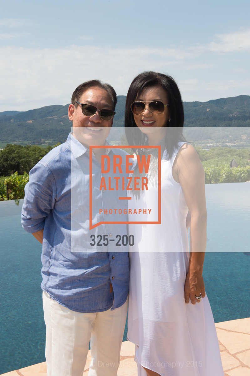 Edward Lee, Jennifer Lee, Festival del Sole Brunello Cucinelli Luncheon Hosted by Hall Wines and Neiman Marcus, P\. 56 Auberge Rd, July 19th, 2015,Drew Altizer, Drew Altizer Photography, full-service agency, private events, San Francisco photographer, photographer california
