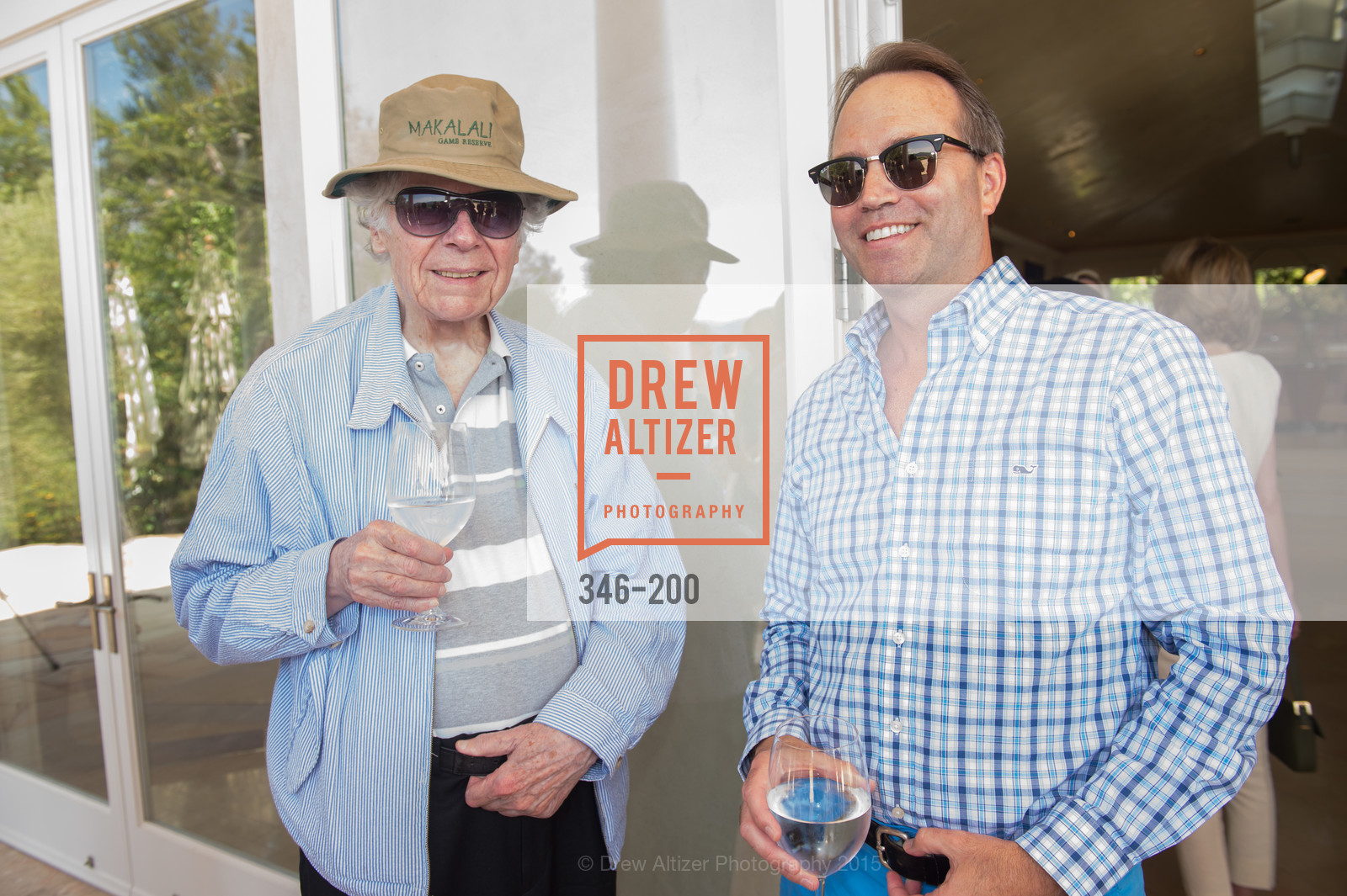 Gordon Getty, Chip Zecher, Festival del Sole Brunello Cucinelli Luncheon Hosted by Hall Wines and Neiman Marcus, P\. 56 Auberge Rd, July 19th, 2015,Drew Altizer, Drew Altizer Photography, full-service agency, private events, San Francisco photographer, photographer california