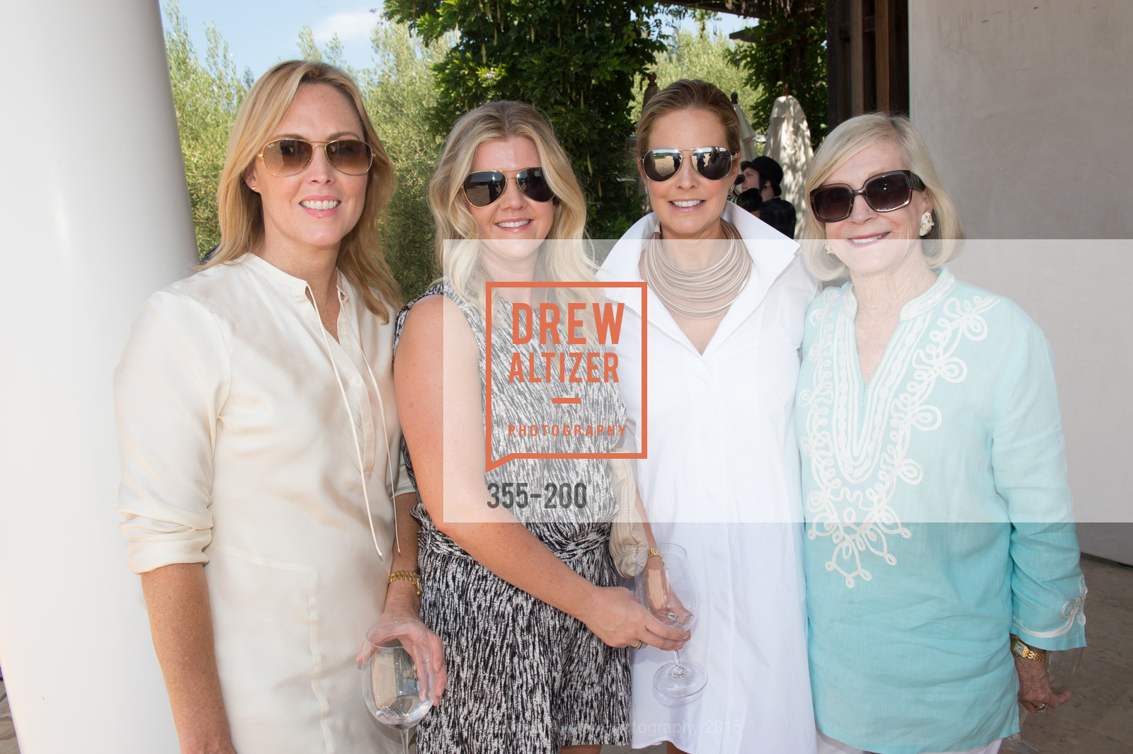 Jenny Sheahan, Tricia Singer, Maggie Oetgen, Pepper Jackson, Festival del Sole Brunello Cucinelli Luncheon Hosted by Hall Wines and Neiman Marcus, P\. 56 Auberge Rd, July 19th, 2015,Drew Altizer, Drew Altizer Photography, full-service agency, private events, San Francisco photographer, photographer california