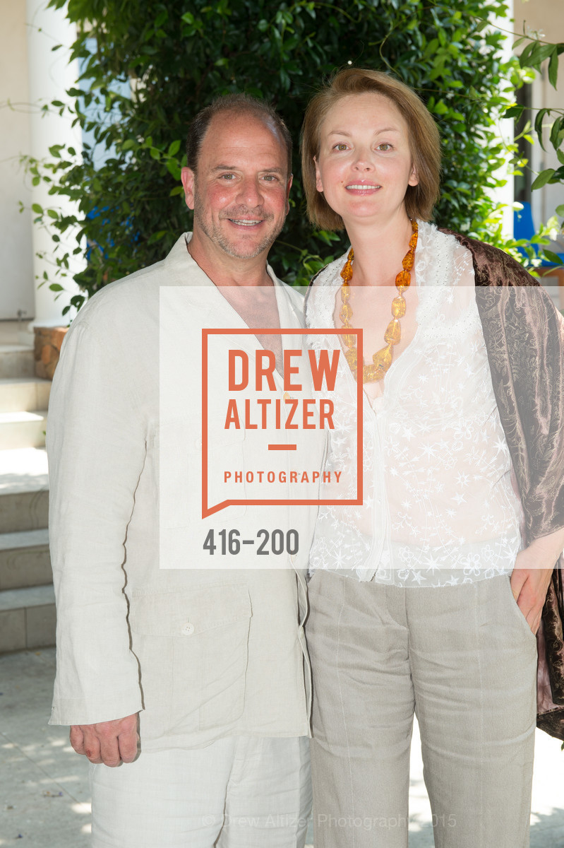 Barrett Wissman, Nina Kotova, Festival del Sole Brunello Cucinelli Luncheon Hosted by Hall Wines and Neiman Marcus, P\. 56 Auberge Rd, July 19th, 2015