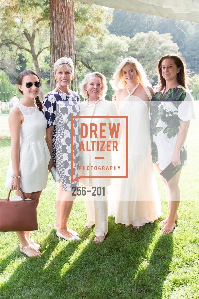 Stephanie Unger, Deborah Harlan, Jeanne Lawrence, Stephanie Lawrence, Amanda Harlan, Festival del Sole Annual Gala at Meadowood Napa Valley, Meadowood Napa Valley. 900 Meadowood Ln, July 19th, 2015,Drew Altizer, Drew Altizer Photography, full-service agency, private events, San Francisco photographer, photographer california