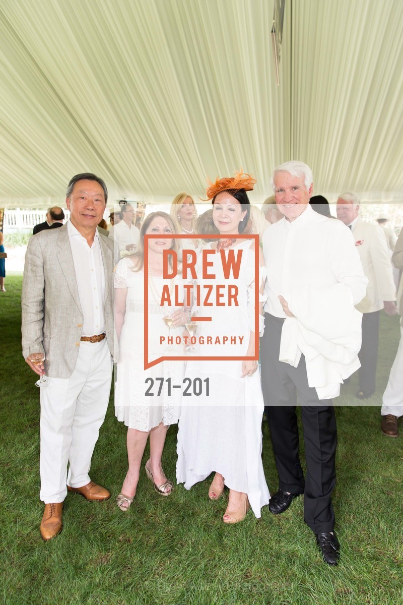 Stanley Cheng, Athena Blackburn, Helen Cheng, Timothy Blackburn, Festival del Sole Annual Gala at Meadowood Napa Valley, Meadowood Napa Valley. 900 Meadowood Ln, July 19th, 2015,Drew Altizer, Drew Altizer Photography, full-service agency, private events, San Francisco photographer, photographer california