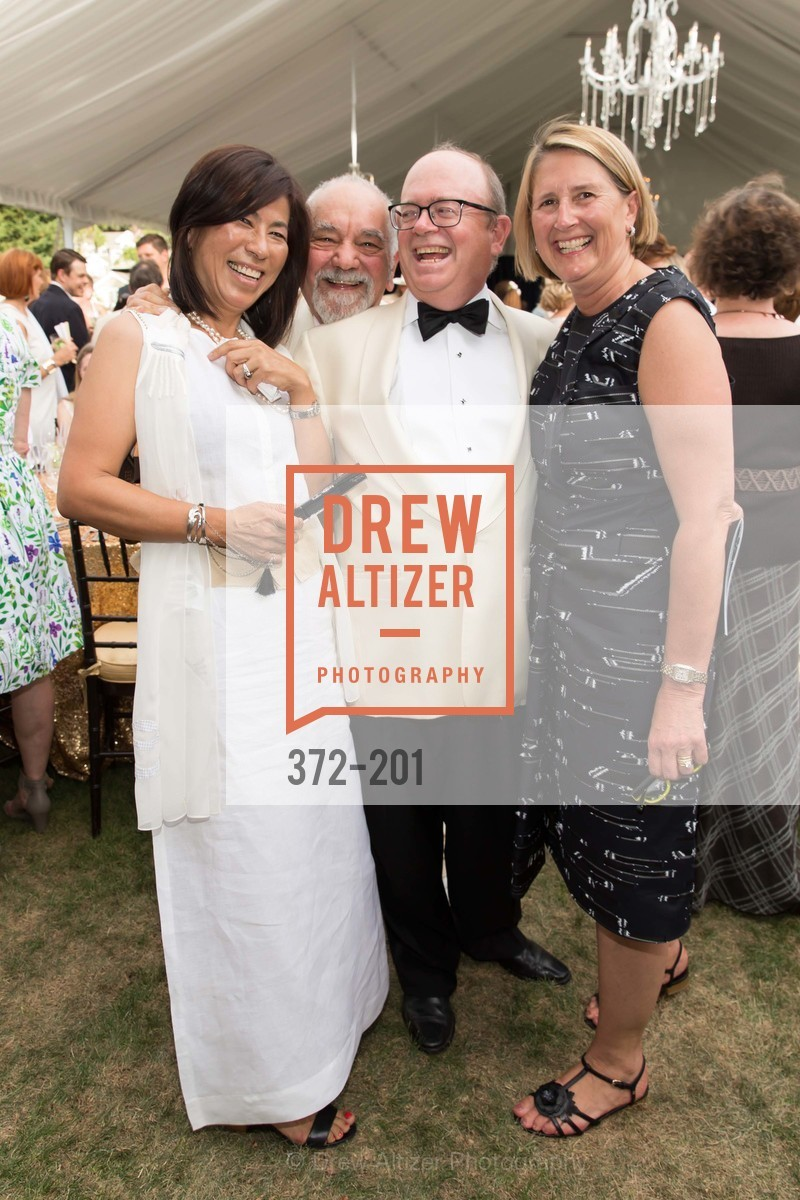 Naoko Dalla Valle, Narsai David, Fritz Hatton, Prisca Geeslin, Festival del Sole Annual Gala at Meadowood Napa Valley, Meadowood Napa Valley. 900 Meadowood Ln, July 19th, 2015,Drew Altizer, Drew Altizer Photography, full-service agency, private events, San Francisco photographer, photographer california
