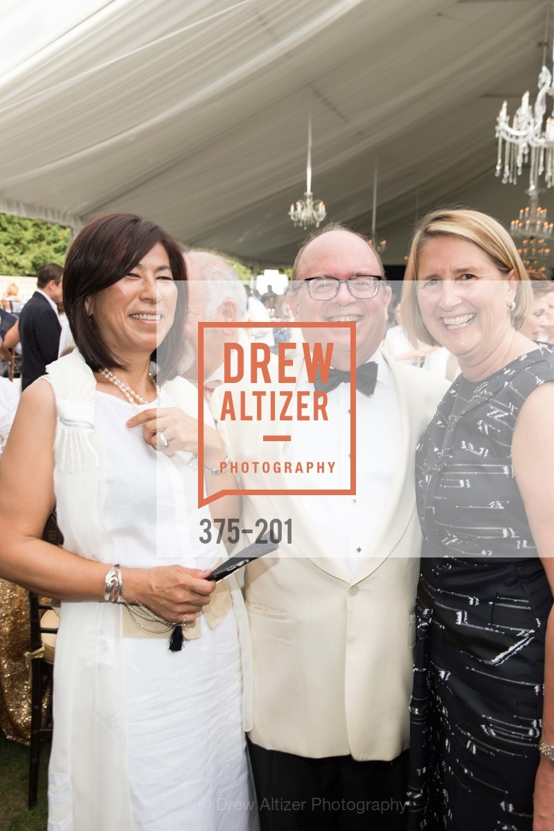 Naoko Dalla Valle, Fritz Hatton, Prisca Geeslin, Festival del Sole Annual Gala at Meadowood Napa Valley, Meadowood Napa Valley. 900 Meadowood Ln, July 19th, 2015,Drew Altizer, Drew Altizer Photography, full-service agency, private events, San Francisco photographer, photographer california