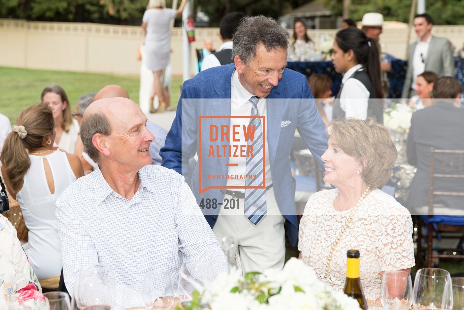 Keith Geeslin, Rick Walker, Nancy Pelosi, Festival del Sole Annual Gala at Meadowood Napa Valley, Meadowood Napa Valley. 900 Meadowood Ln, July 19th, 2015,Drew Altizer, Drew Altizer Photography, full-service event agency, private events, San Francisco photographer, photographer California