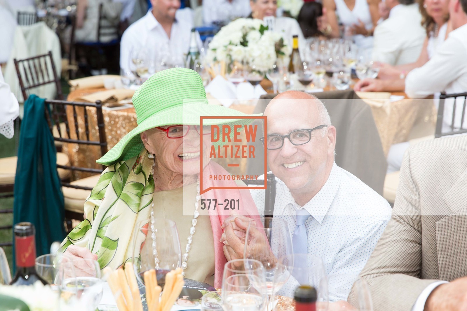 Margrit Mondavi, Ken Monnens, Festival del Sole Annual Gala at Meadowood Napa Valley, Meadowood Napa Valley. 900 Meadowood Ln, July 19th, 2015,Drew Altizer, Drew Altizer Photography, full-service event agency, private events, San Francisco photographer, photographer California