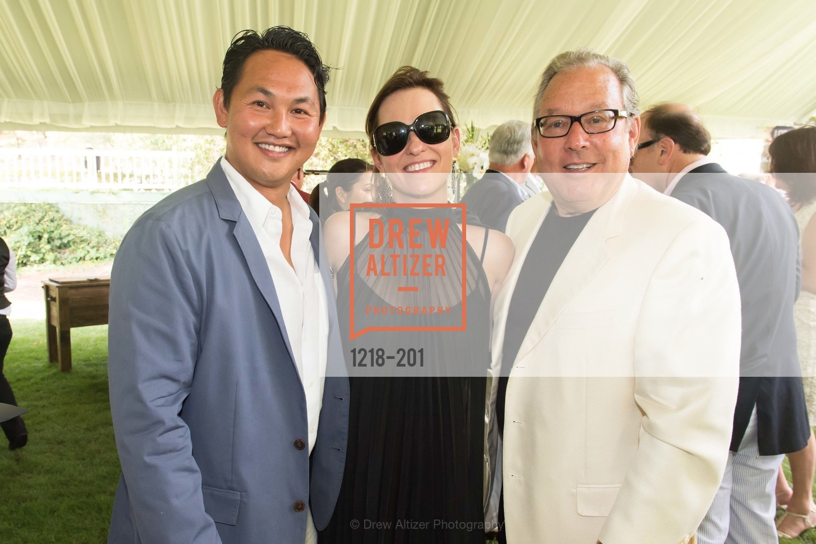 Daniel Hong, Kimberly Jones, Mark Quilido, Festival del Sole Annual Gala at Meadowood Napa Valley, Meadowood Napa Valley. 900 Meadowood Ln, July 19th, 2015,Drew Altizer, Drew Altizer Photography, full-service agency, private events, San Francisco photographer, photographer california