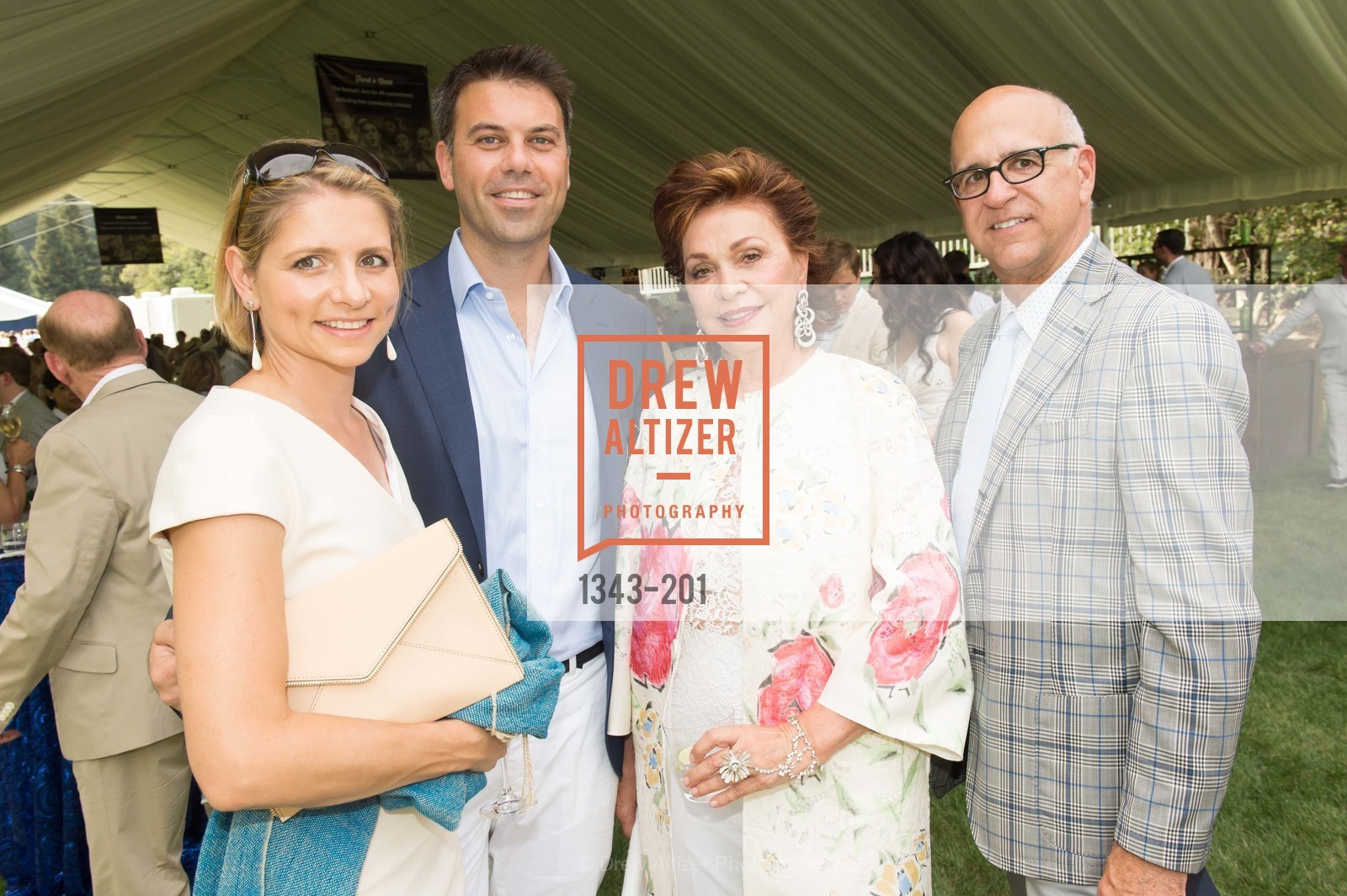 Sabrina Persson, Timothy Persson, Maria Manetti Shrem, Ken Monnens, Festival del Sole Annual Gala at Meadowood Napa Valley, Meadowood Napa Valley. 900 Meadowood Ln, July 19th, 2015,Drew Altizer, Drew Altizer Photography, full-service agency, private events, San Francisco photographer, photographer california