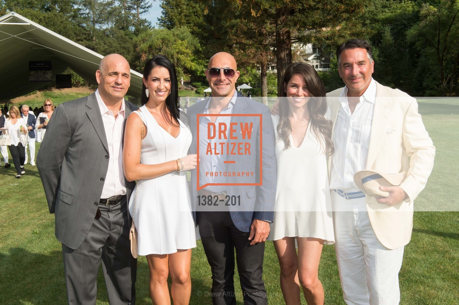 Gus Stanos, Martha Stanos, Justin Wise, Heidi Mullens, Michael Polenske, Festival del Sole Annual Gala at Meadowood Napa Valley, Meadowood Napa Valley. 900 Meadowood Ln, July 19th, 2015,Drew Altizer, Drew Altizer Photography, full-service agency, private events, San Francisco photographer, photographer california