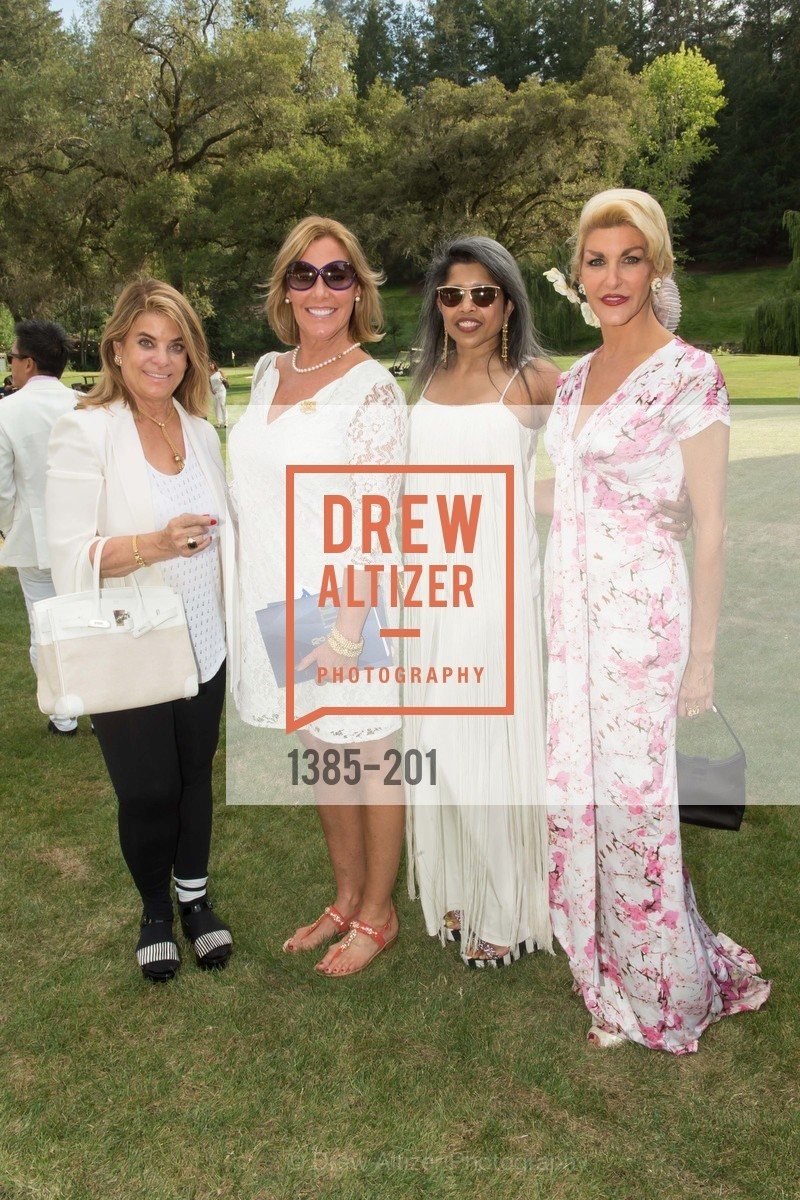 Carol Middleton, Denise Zanze, Deepa Pakianathan, Karen Caldwell, Festival del Sole Annual Gala at Meadowood Napa Valley, Meadowood Napa Valley. 900 Meadowood Ln, July 19th, 2015,Drew Altizer, Drew Altizer Photography, full-service agency, private events, San Francisco photographer, photographer california