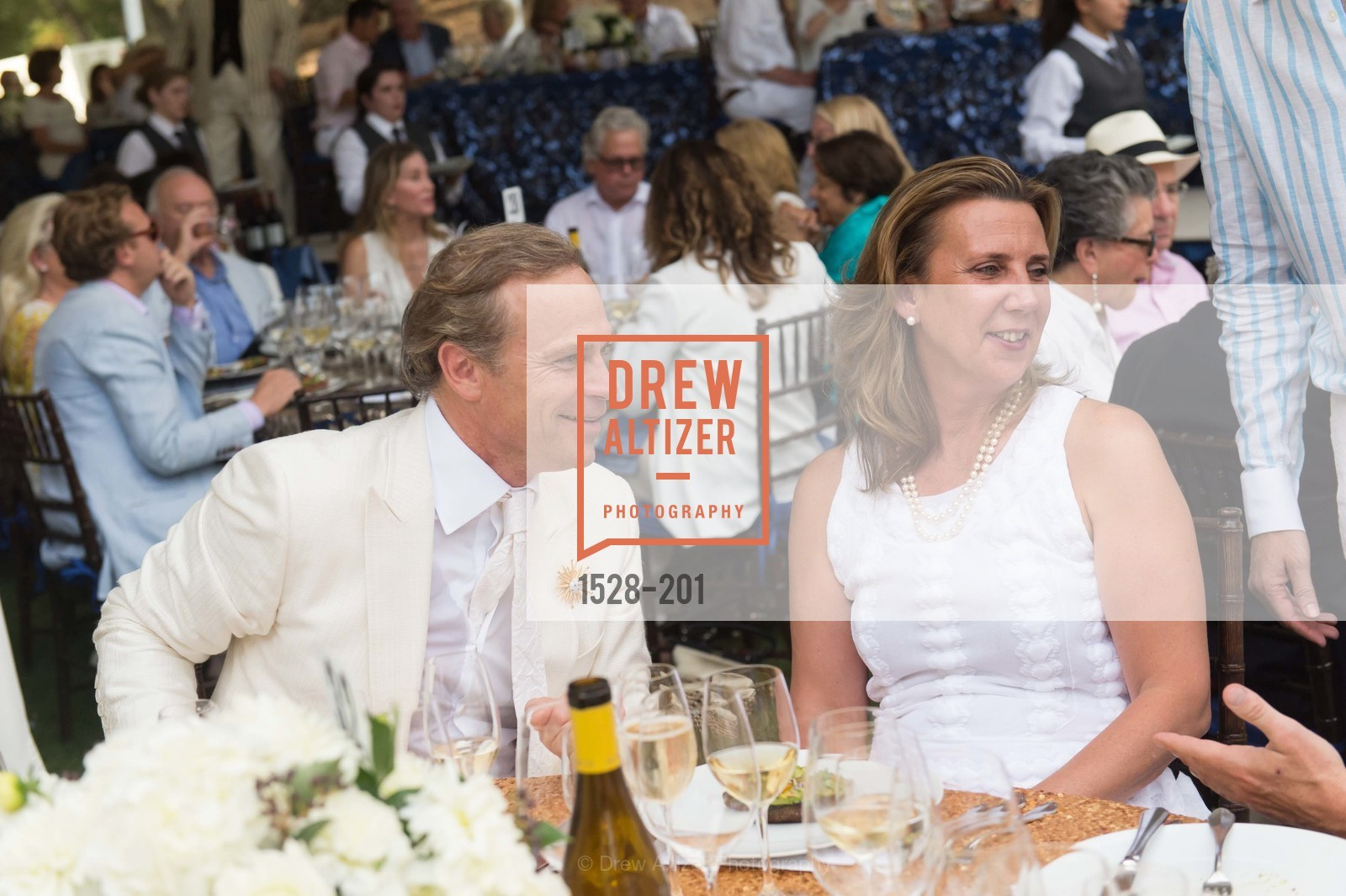 Jean-Charles Boisset, Gina Gallo, Festival del Sole Annual Gala at Meadowood Napa Valley, Meadowood Napa Valley. 900 Meadowood Ln, July 19th, 2015,Drew Altizer, Drew Altizer Photography, full-service agency, private events, San Francisco photographer, photographer california