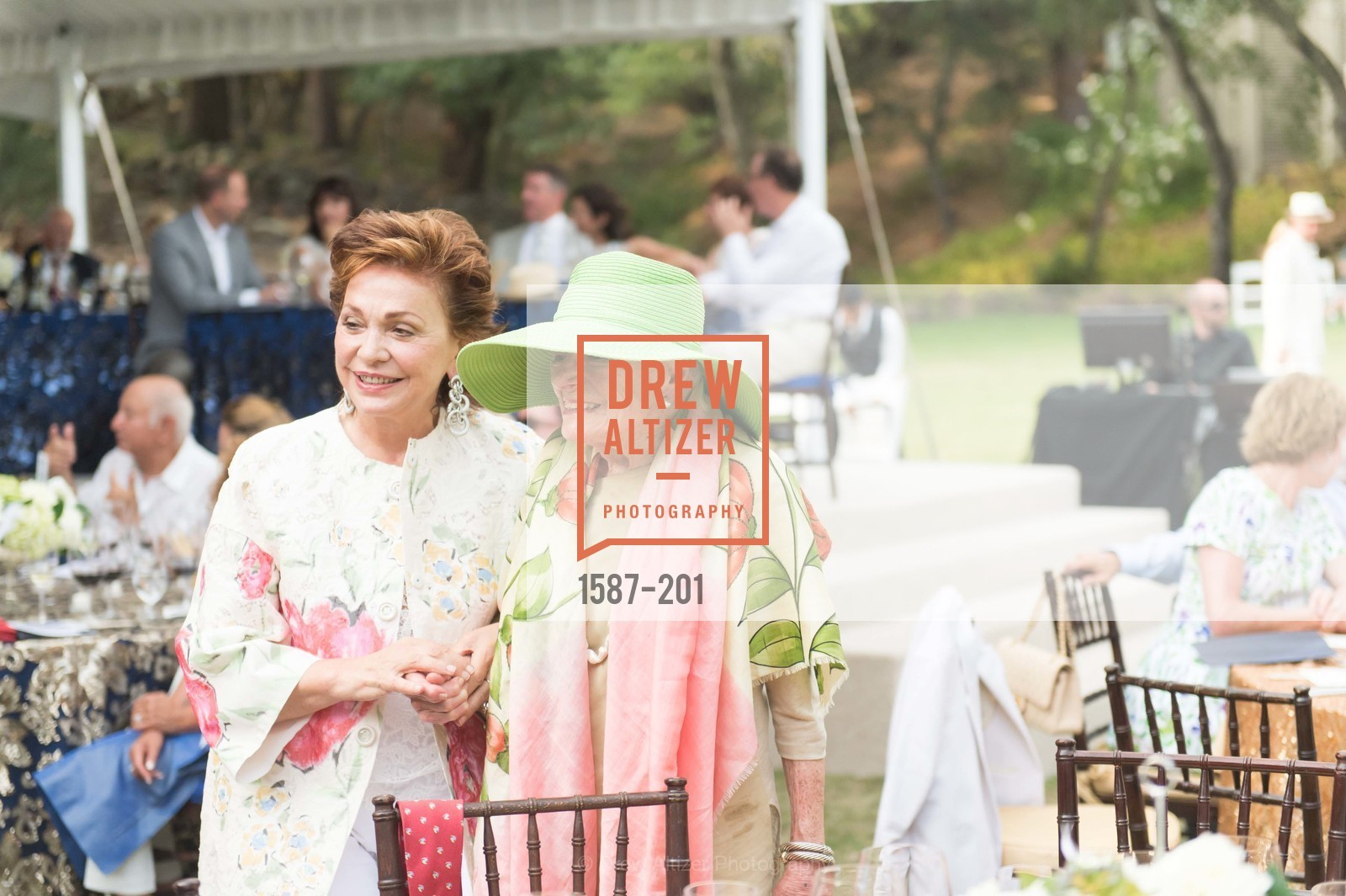Maria Manetti Shrem, Margrit Mondavi, Festival del Sole Annual Gala at Meadowood Napa Valley, Meadowood Napa Valley. 900 Meadowood Ln, July 19th, 2015,Drew Altizer, Drew Altizer Photography, full-service agency, private events, San Francisco photographer, photographer california