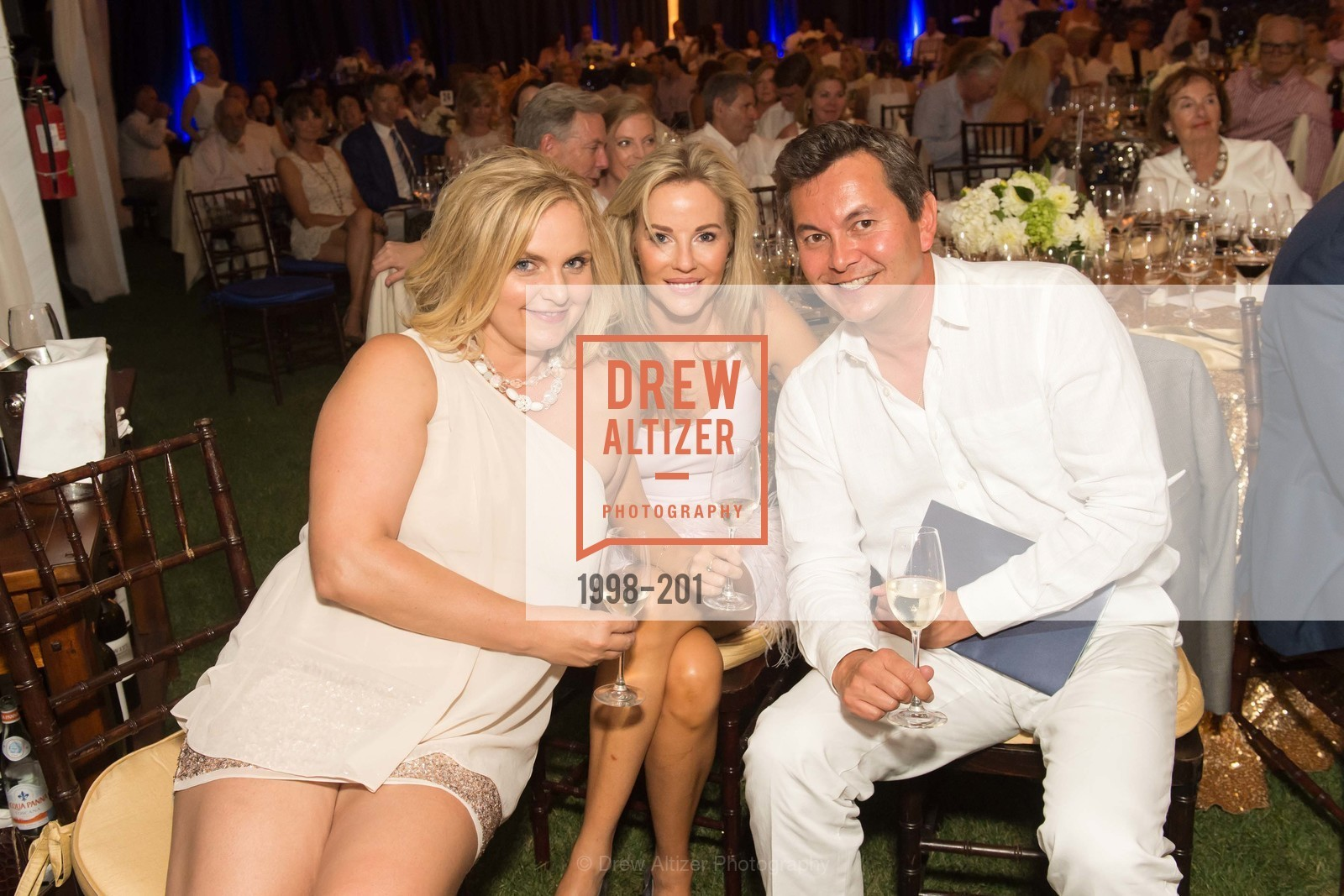 Tania Knox, Sarah Collins, Michael Uytengsu, Festival del Sole Annual Gala at Meadowood Napa Valley, Meadowood Napa Valley. 900 Meadowood Ln, July 19th, 2015,Drew Altizer, Drew Altizer Photography, full-service agency, private events, San Francisco photographer, photographer california