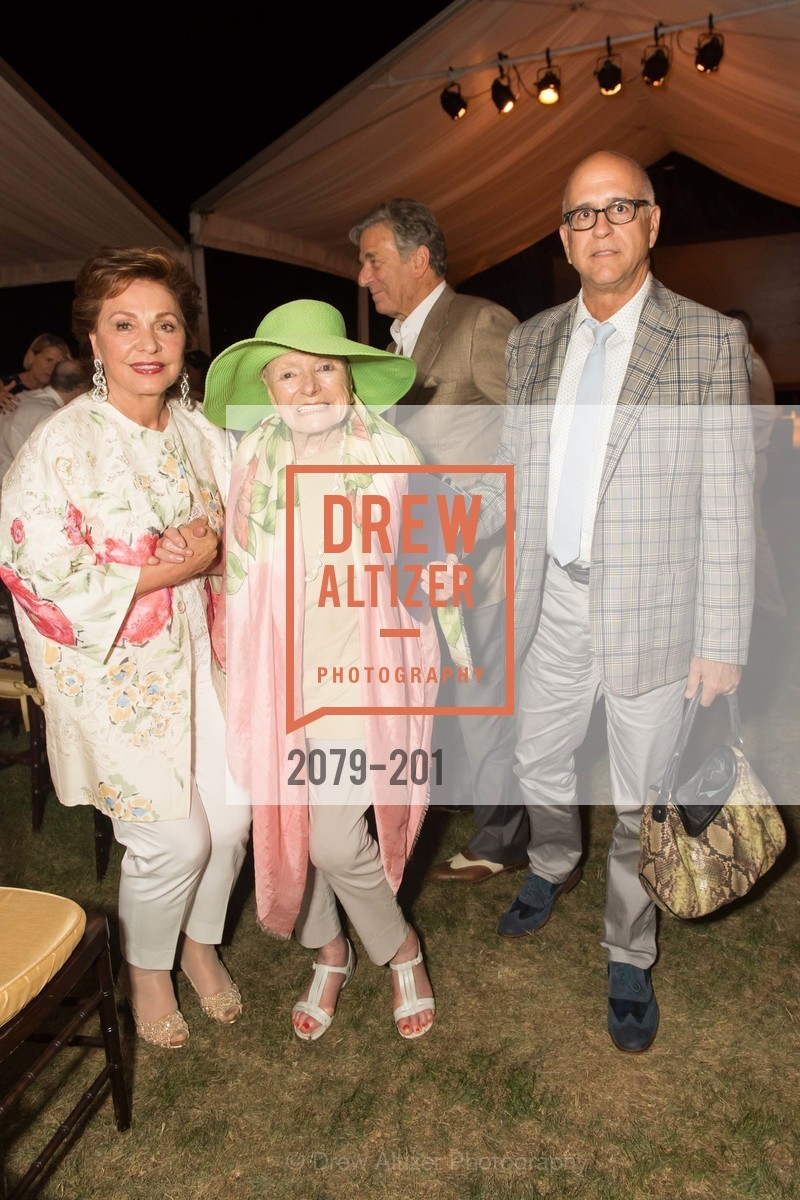 Maria Manetti Shrem, Margrit Mondavi, Ken Monnen, Festival del Sole Annual Gala at Meadowood Napa Valley, Meadowood Napa Valley. 900 Meadowood Ln, July 19th, 2015,Drew Altizer, Drew Altizer Photography, full-service agency, private events, San Francisco photographer, photographer california
