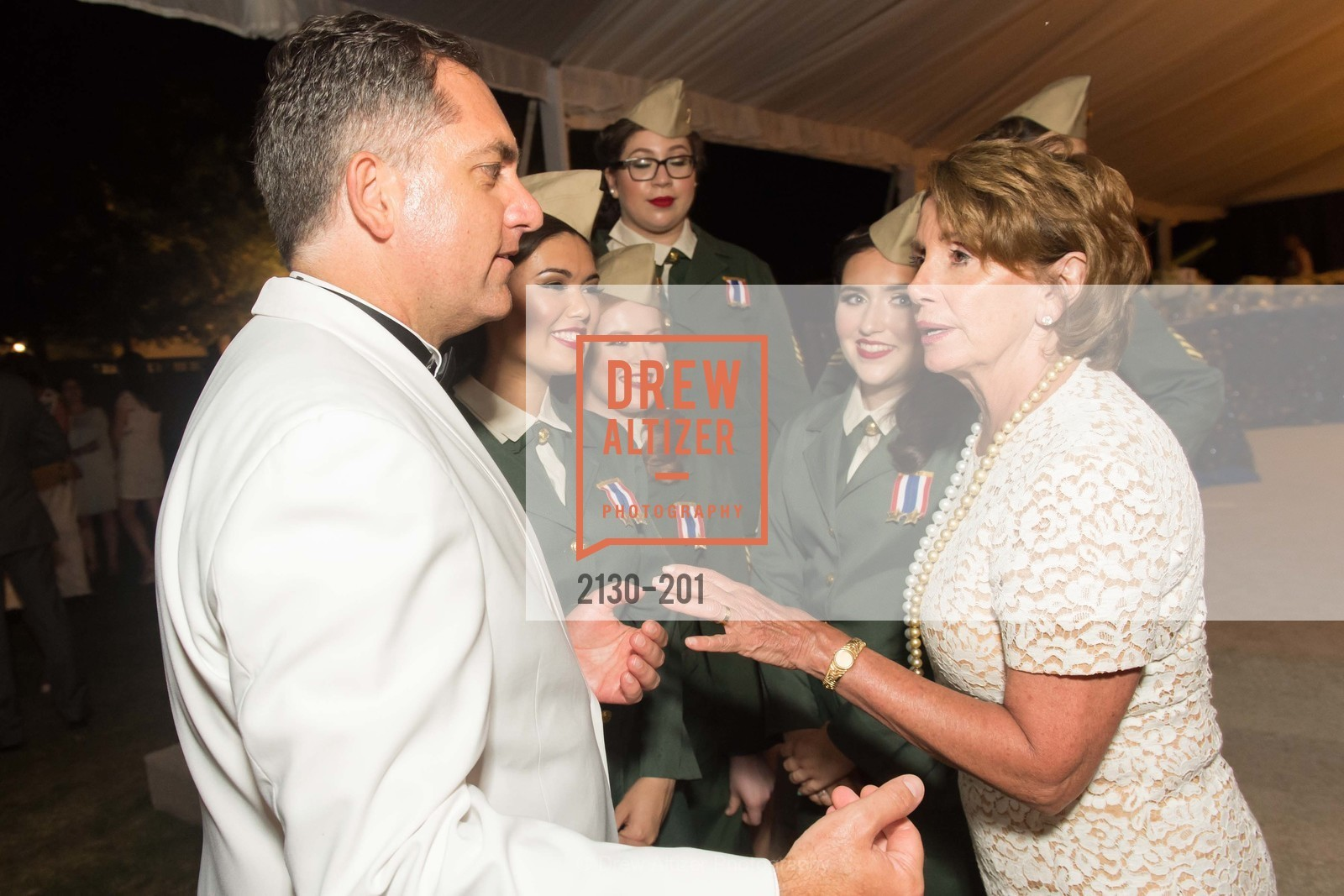 Mark Teeters, Nancy Pelosi, Festival del Sole Annual Gala at Meadowood Napa Valley, Meadowood Napa Valley. 900 Meadowood Ln, July 19th, 2015,Drew Altizer, Drew Altizer Photography, full-service event agency, private events, San Francisco photographer, photographer California