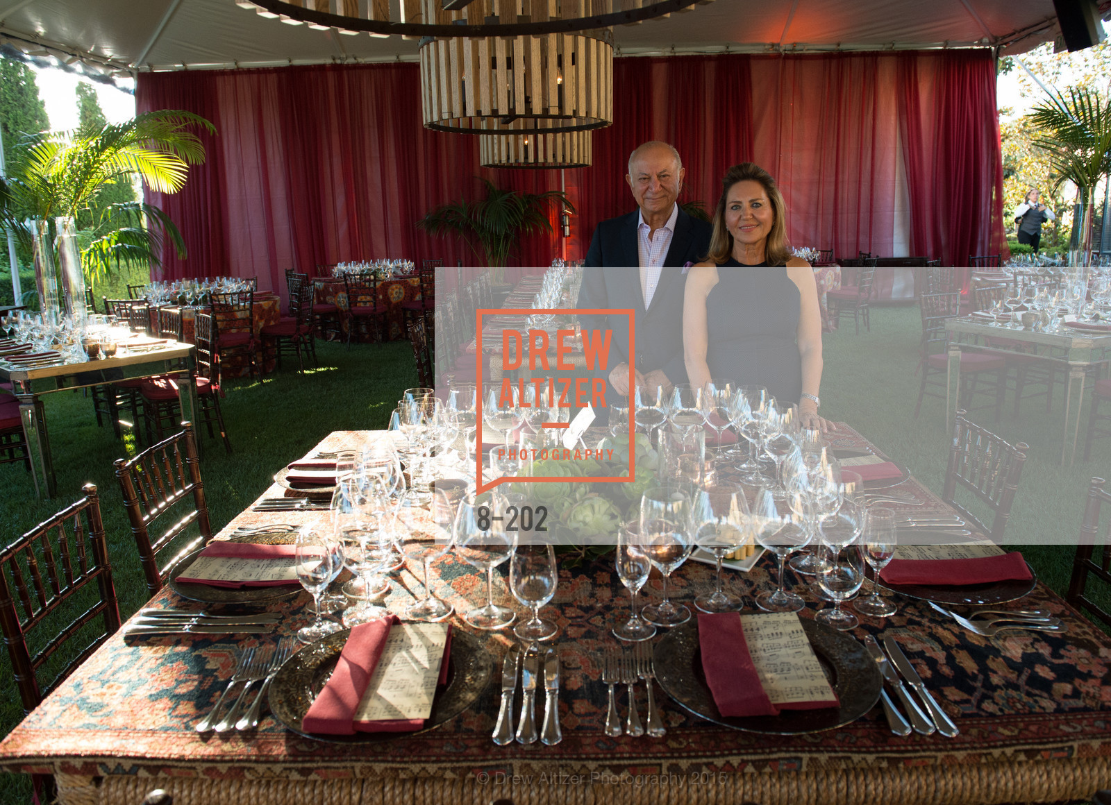 Darioush Khaledi, Shahpar Khaledi, Festival del Sole Patron Dinner at Darioush Winery, Darioush Winery. 4240 Silverado Trail, July 24th, 2015,Drew Altizer, Drew Altizer Photography, full-service event agency, private events, San Francisco photographer, photographer California