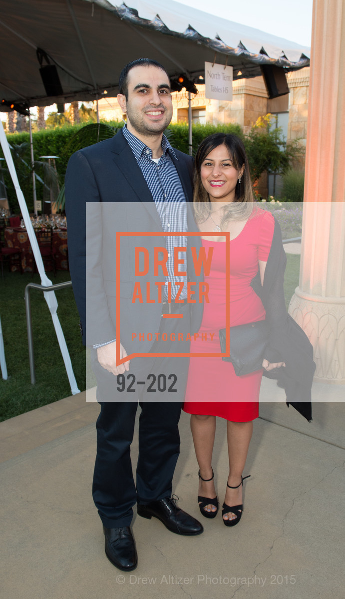 Navid Firoozabady, Nellie Keyhani, Festival del Sole Patron Dinner at Darioush Winery, Darioush Winery. 4240 Silverado Trail, July 24th, 2015,Drew Altizer, Drew Altizer Photography, full-service agency, private events, San Francisco photographer, photographer california