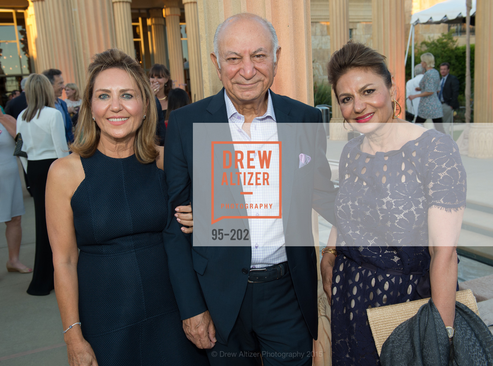 Shahpar Khaledi, Darioush Khaledi, Vida Vazin, Festival del Sole Patron Dinner at Darioush Winery, Darioush Winery. 4240 Silverado Trail, July 24th, 2015,Drew Altizer, Drew Altizer Photography, full-service agency, private events, San Francisco photographer, photographer california